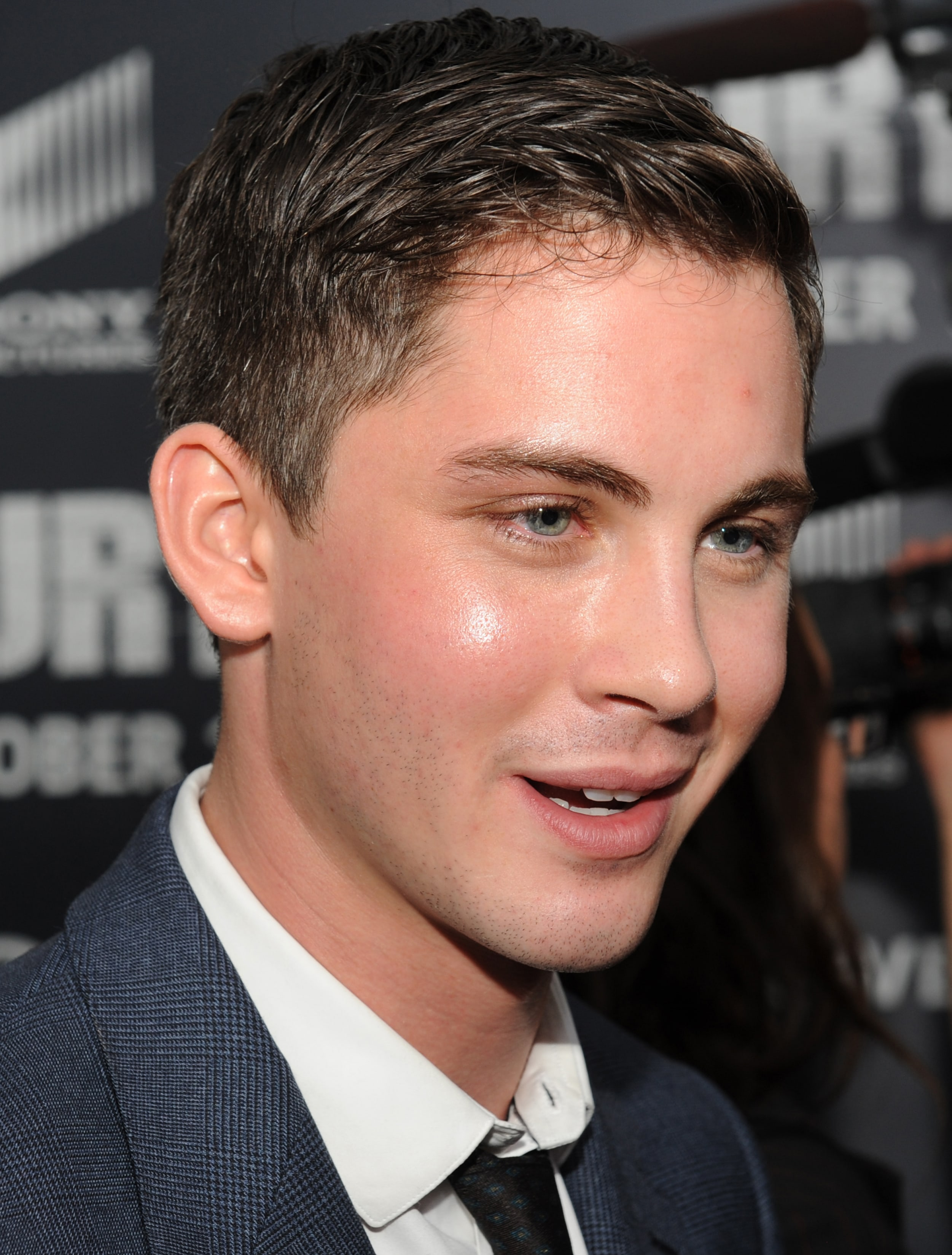 Logan Lerman Desktop wallpapers