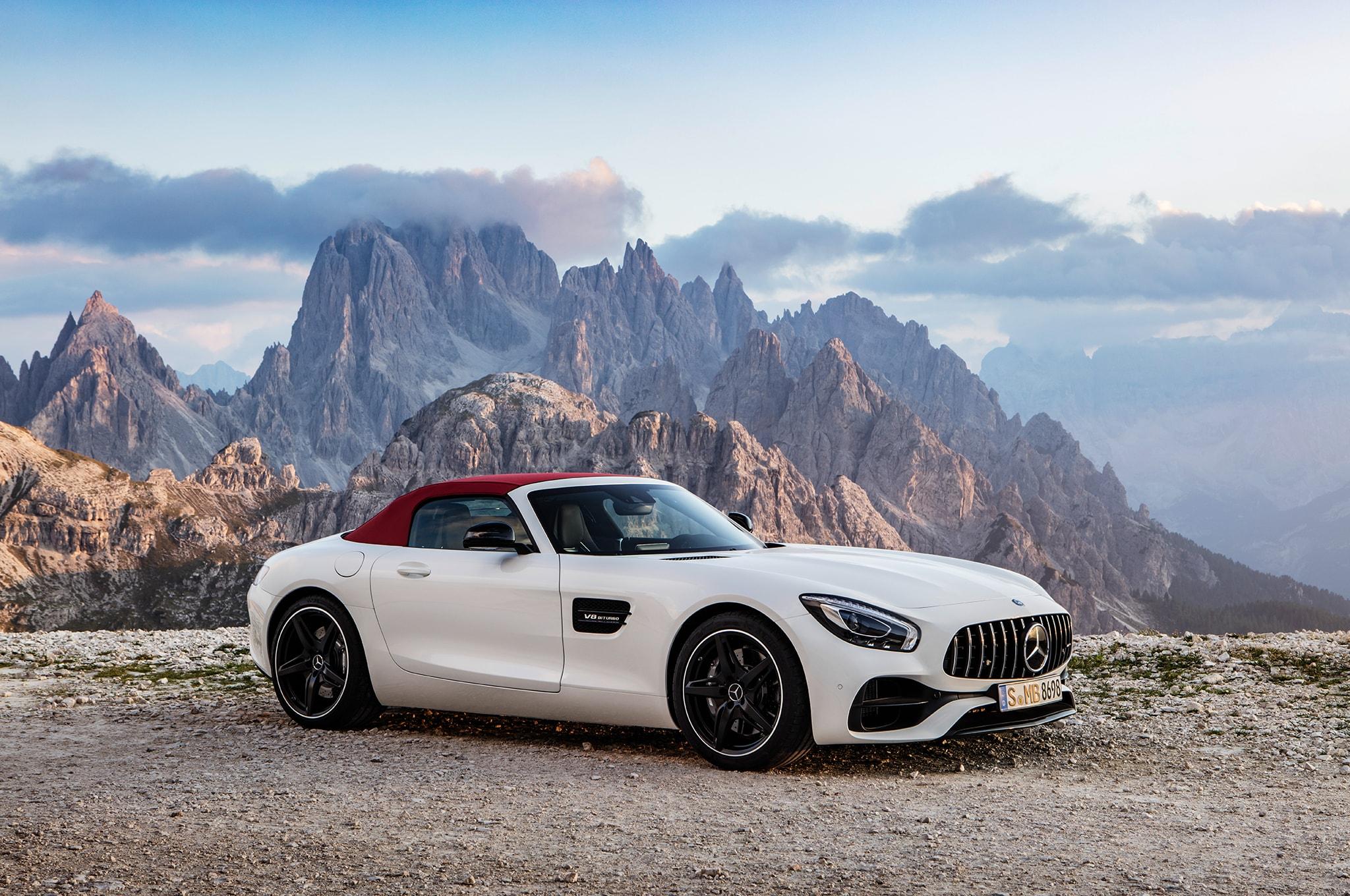 Mercedes-AMG GT Roadster Desktop wallpapers