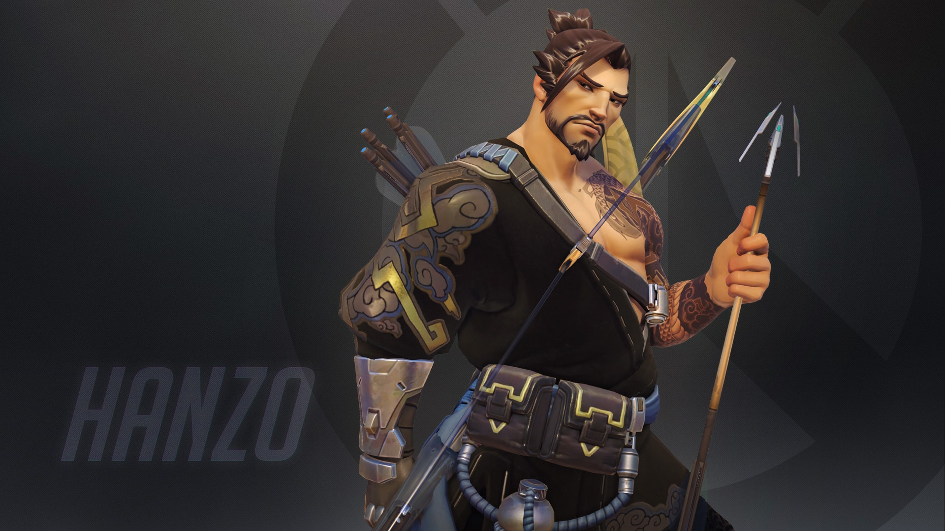 Overwatch : Hanzo Desktop wallpapers