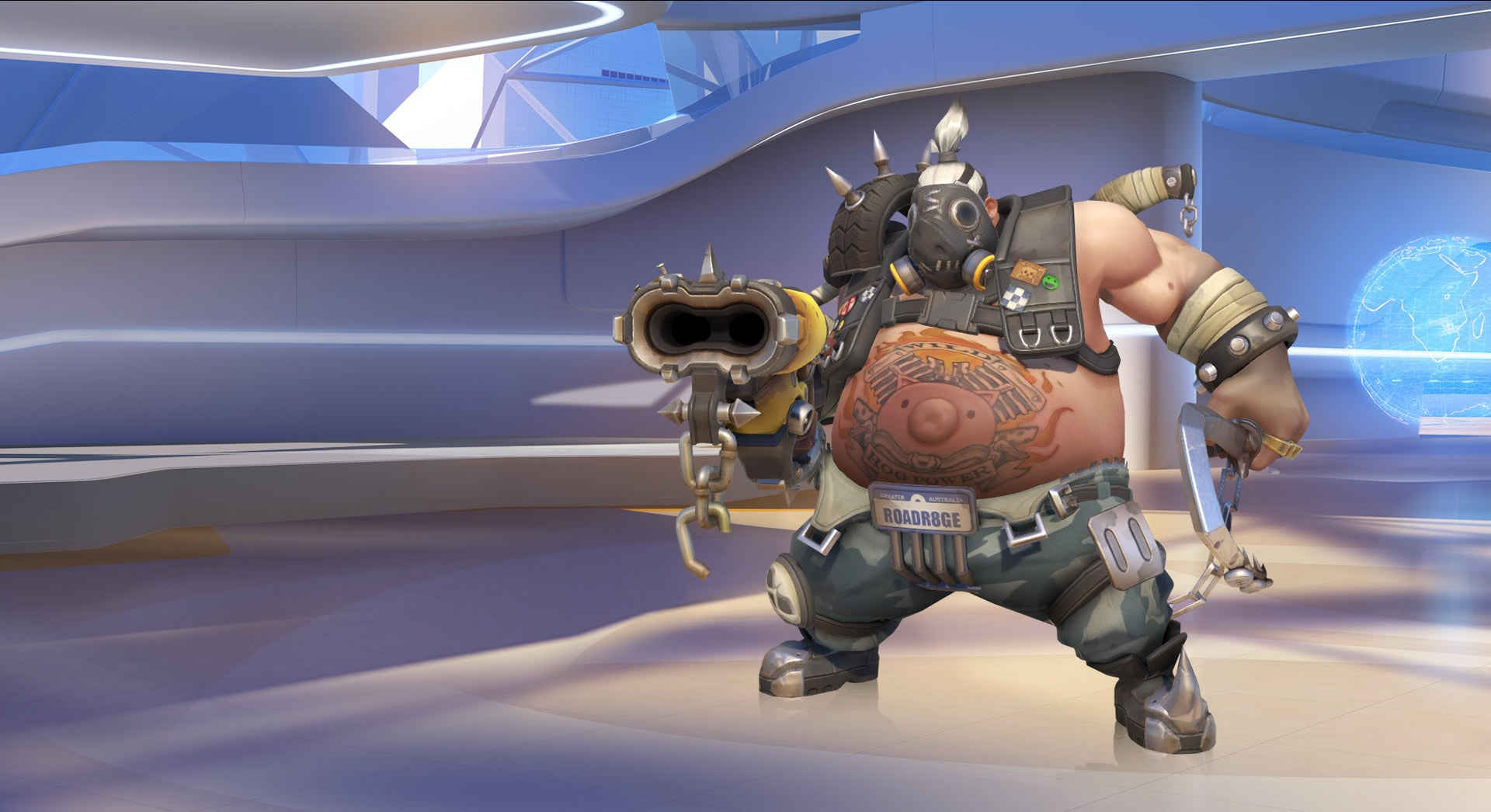 Overwatch : Roadhog Desktop wallpapers