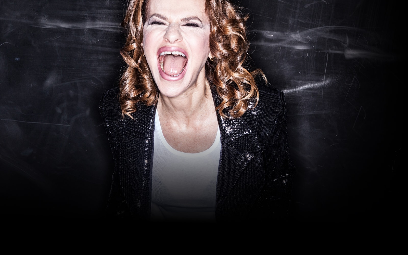 Sandra Bernhard Screensavers