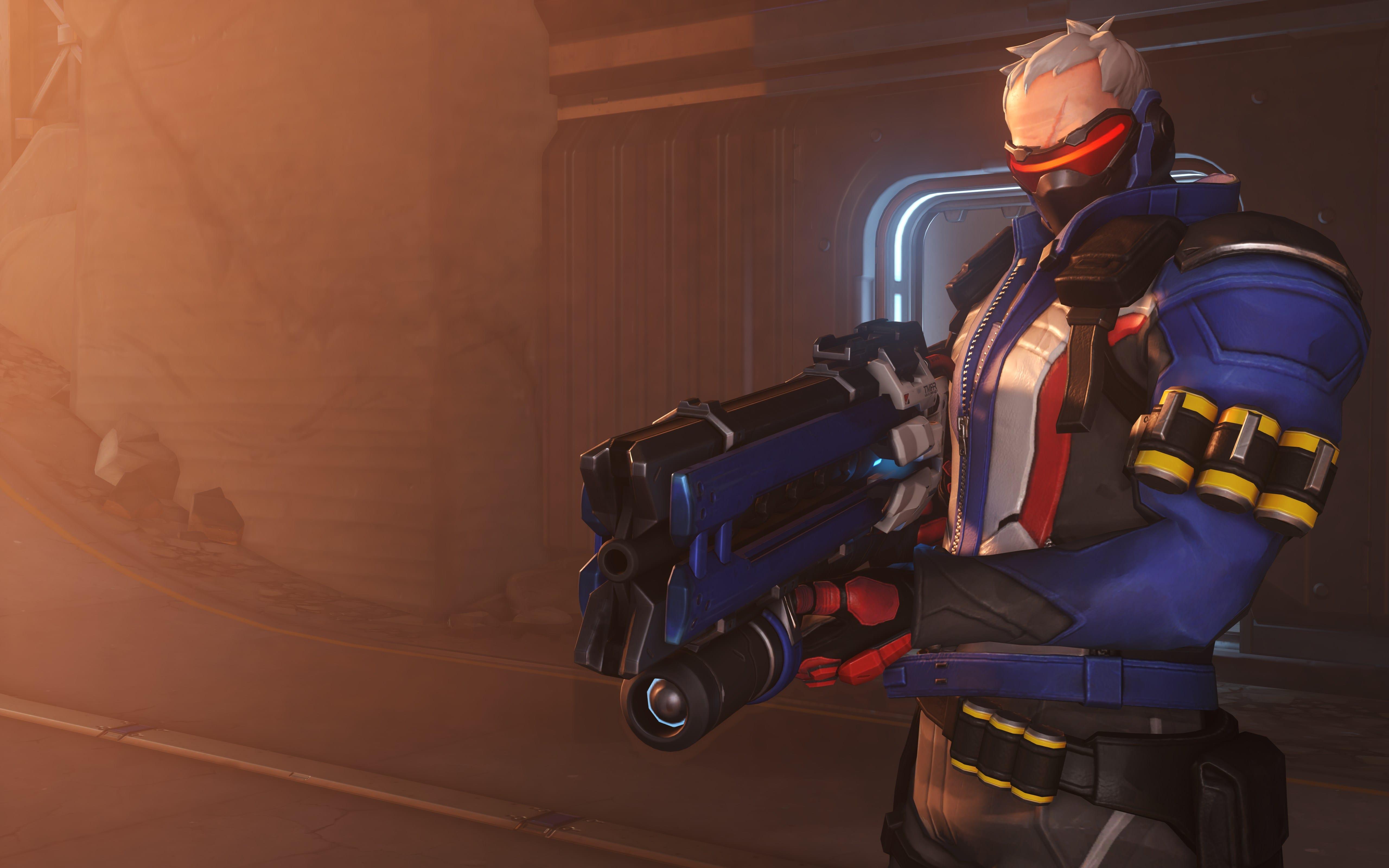 Overwatch : Soldier: 76 Background