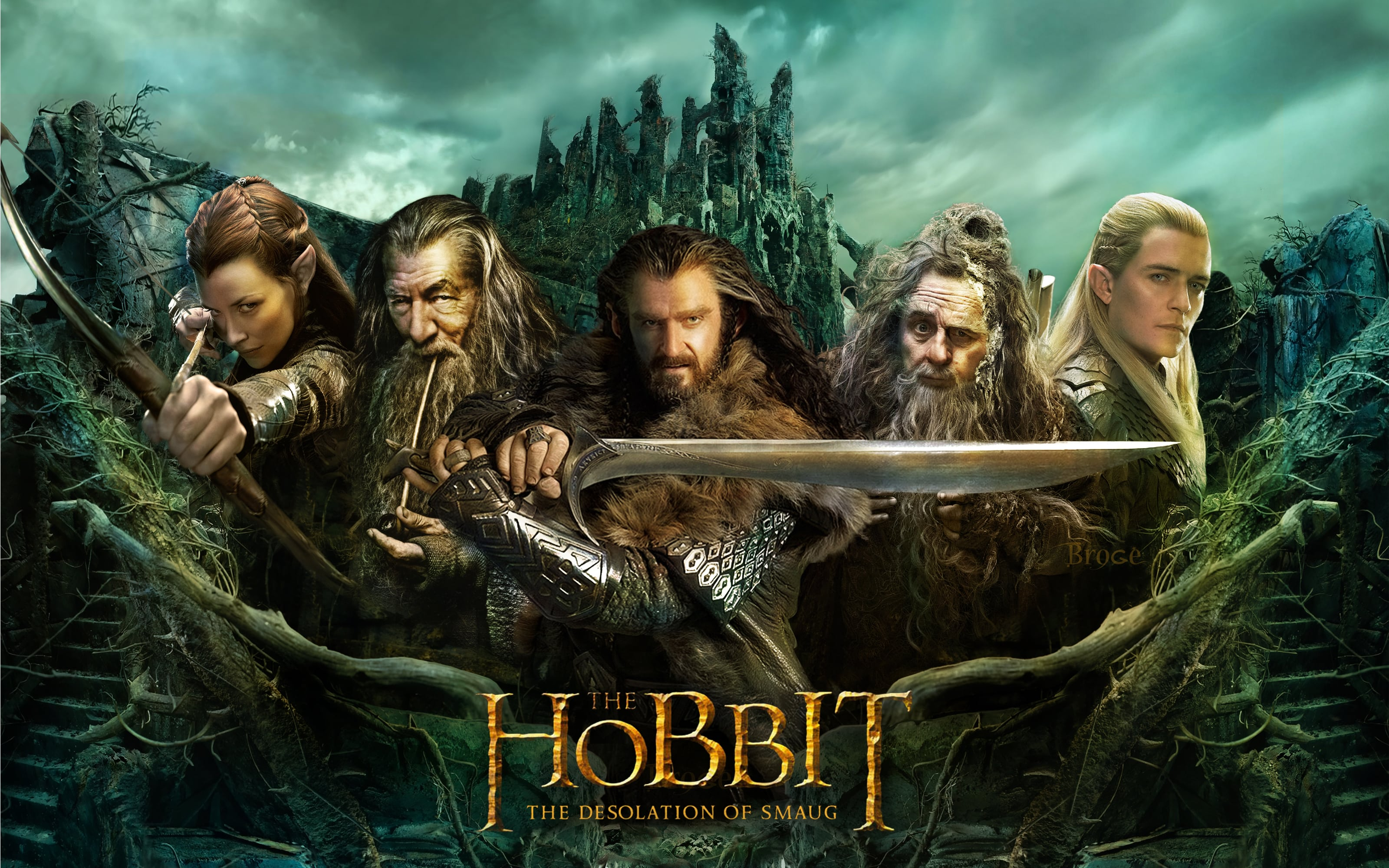 The Hobbit: The Desolation Of Smaug Desktop wallpapers