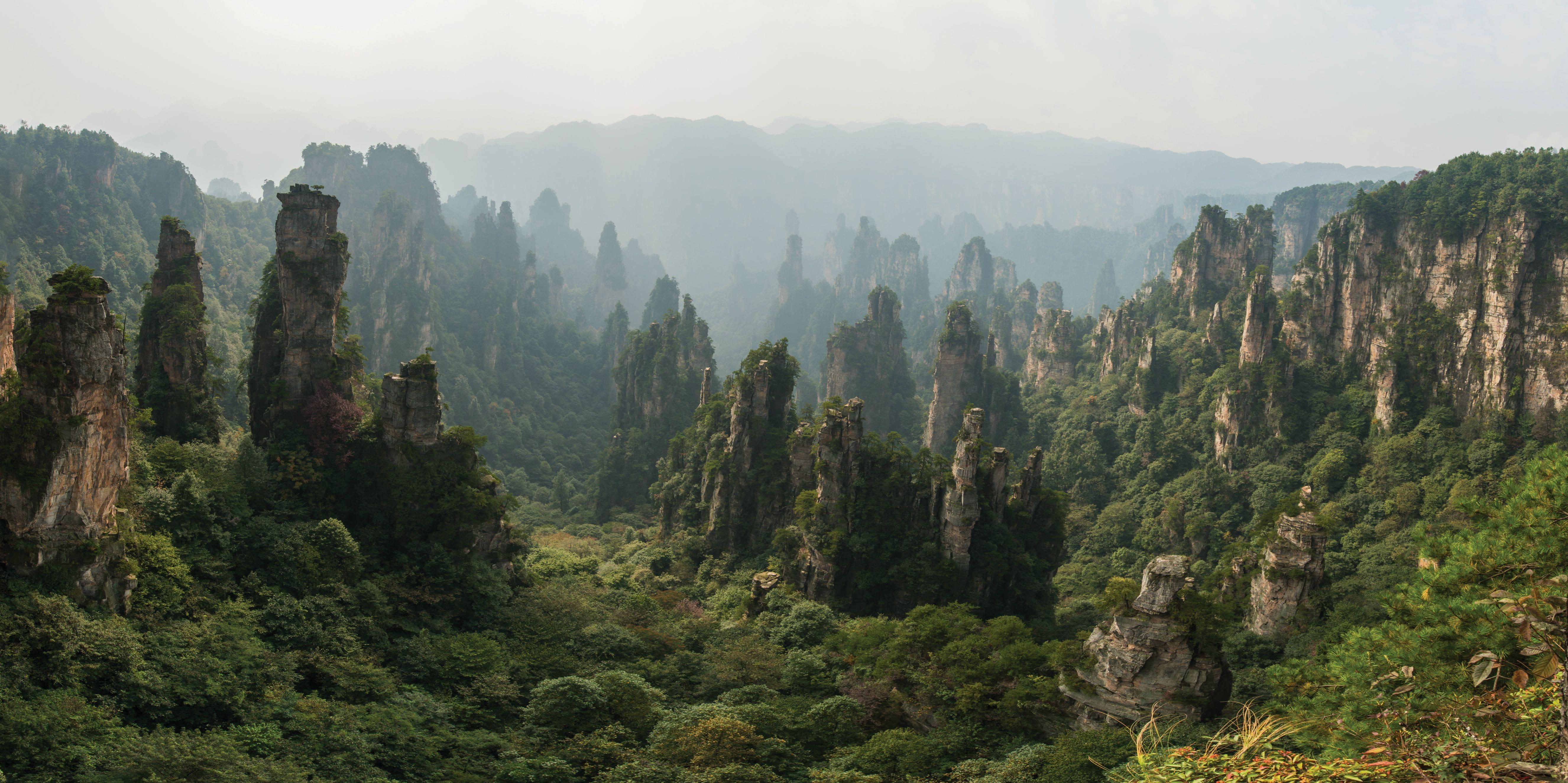 Tianzi Mountain Screensavers