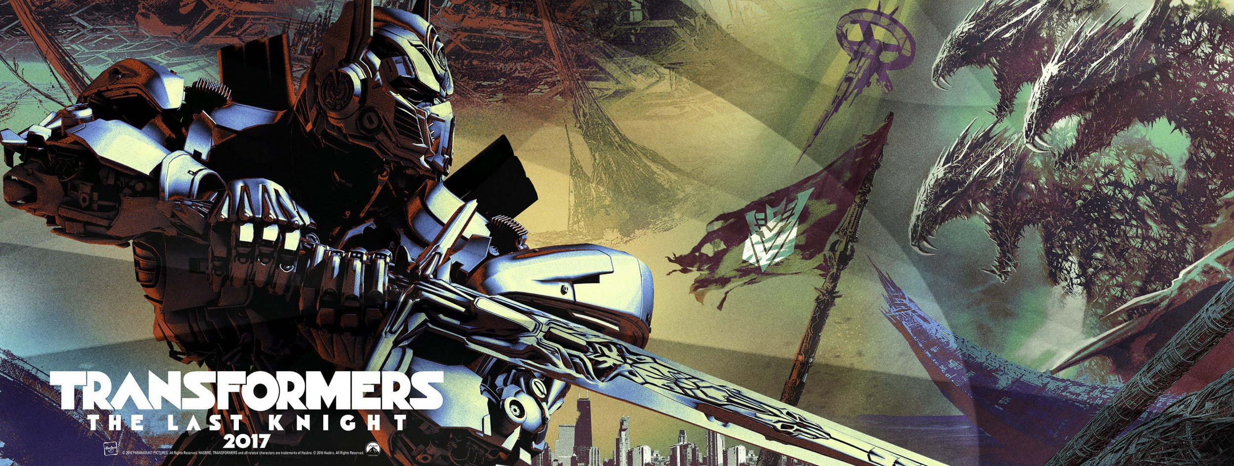 Transformers: The Last Knight Background