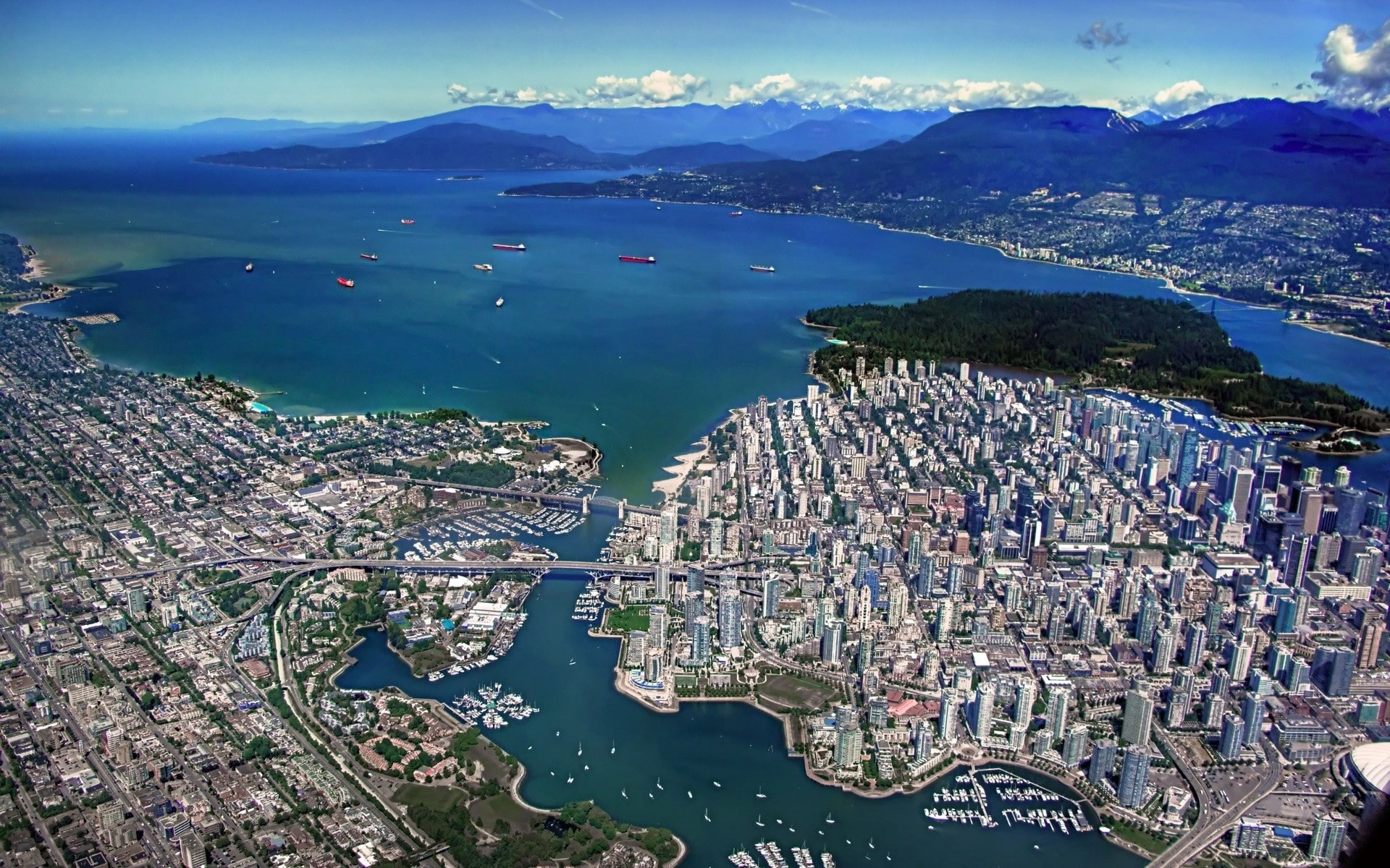 Vancouver Screensavers