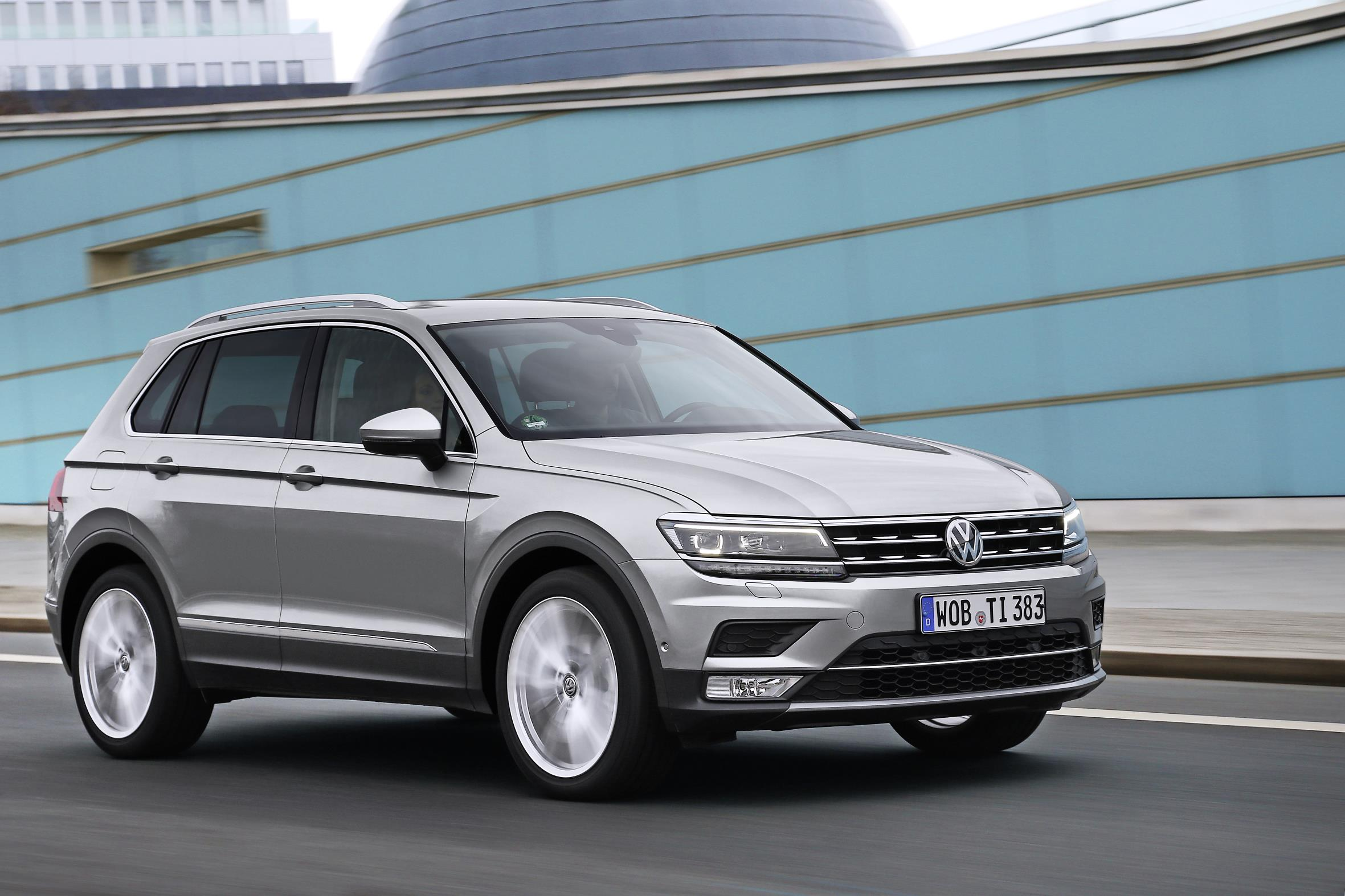 Volkswagen Tiguan 2 Desktop wallpapers