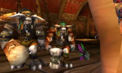 WOW: Baine Bloodhoof Background