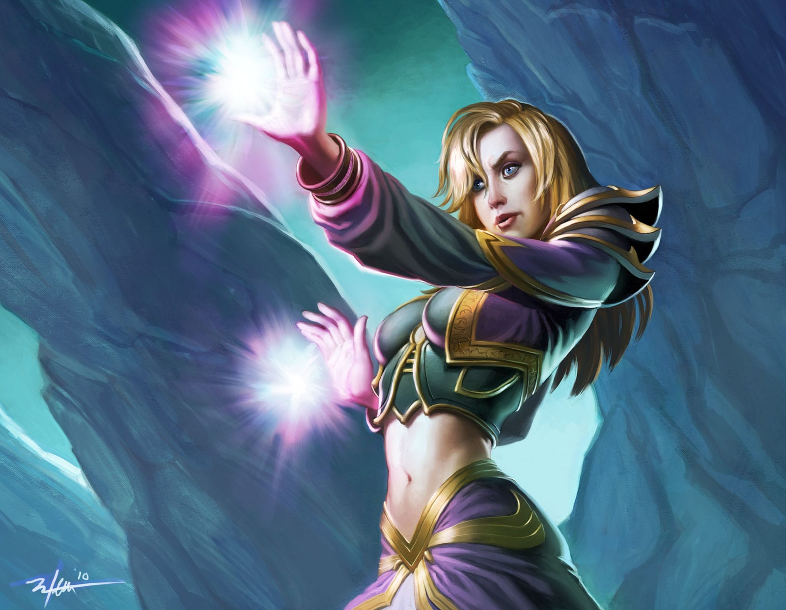 Jaina exploited galleries