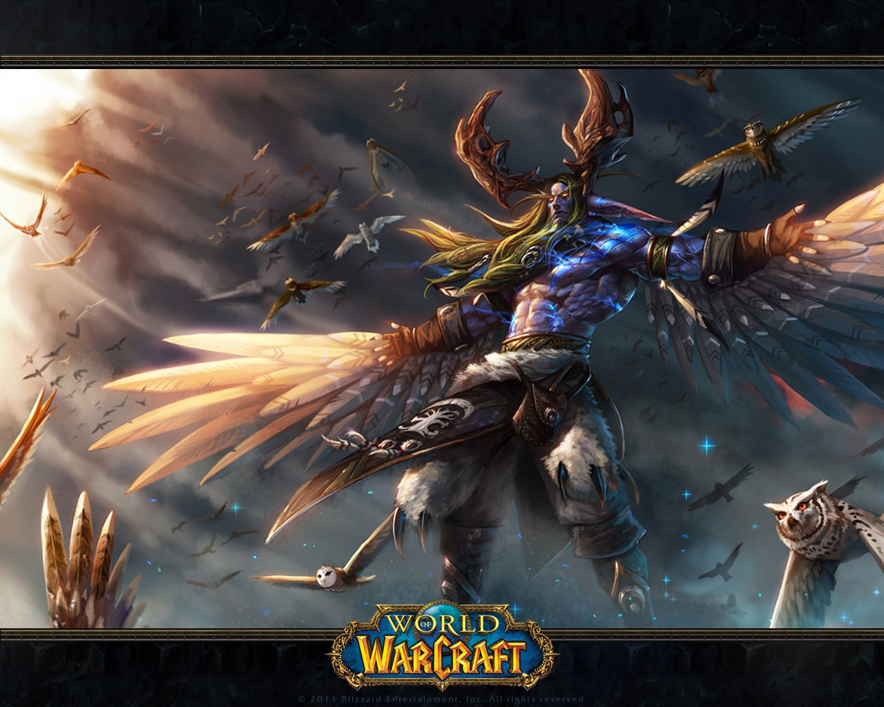 WOW: Malfurion Stormrage Desktop wallpapers