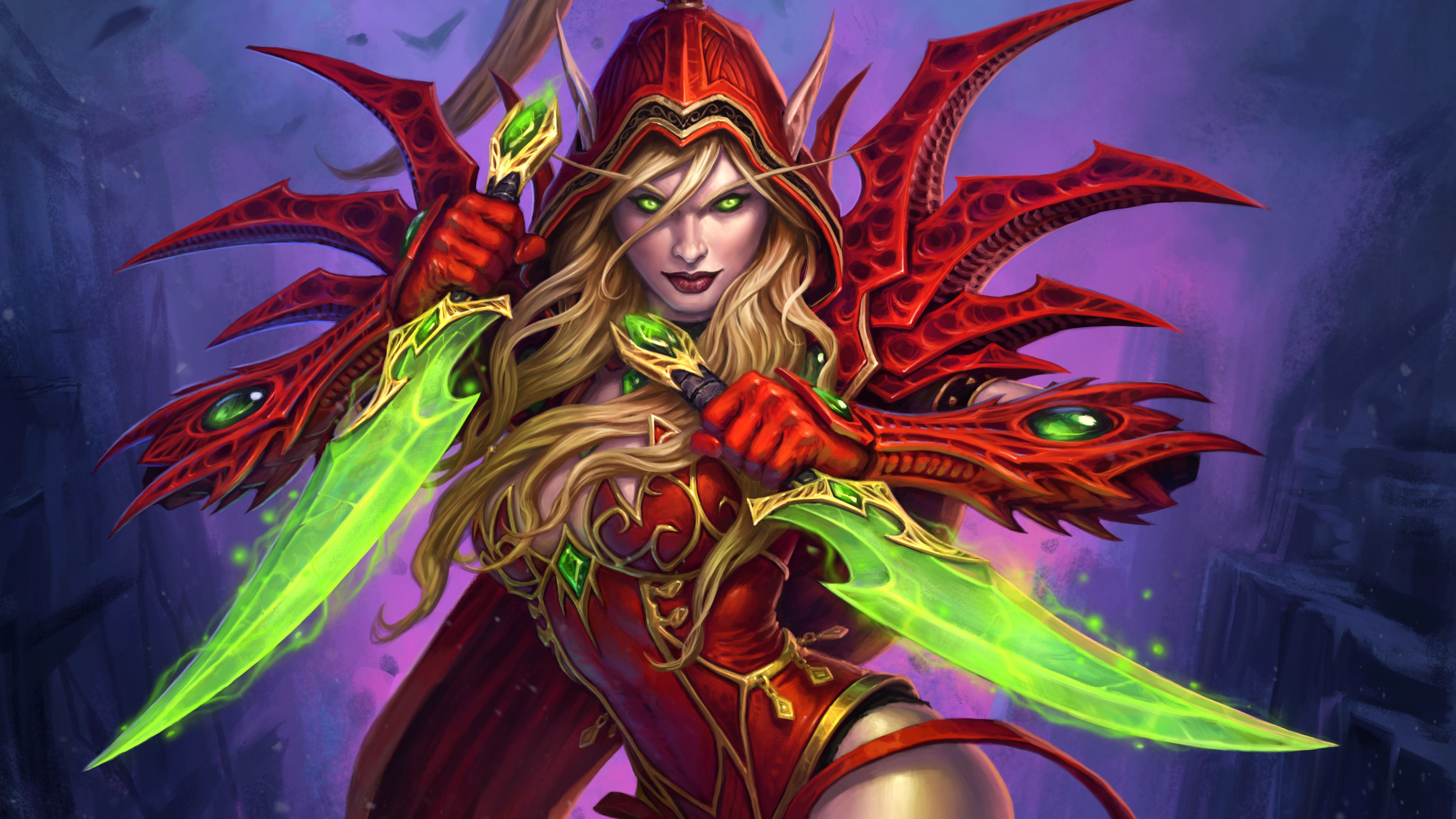 WOW: Valeera Sanguinar Desktop wallpapers