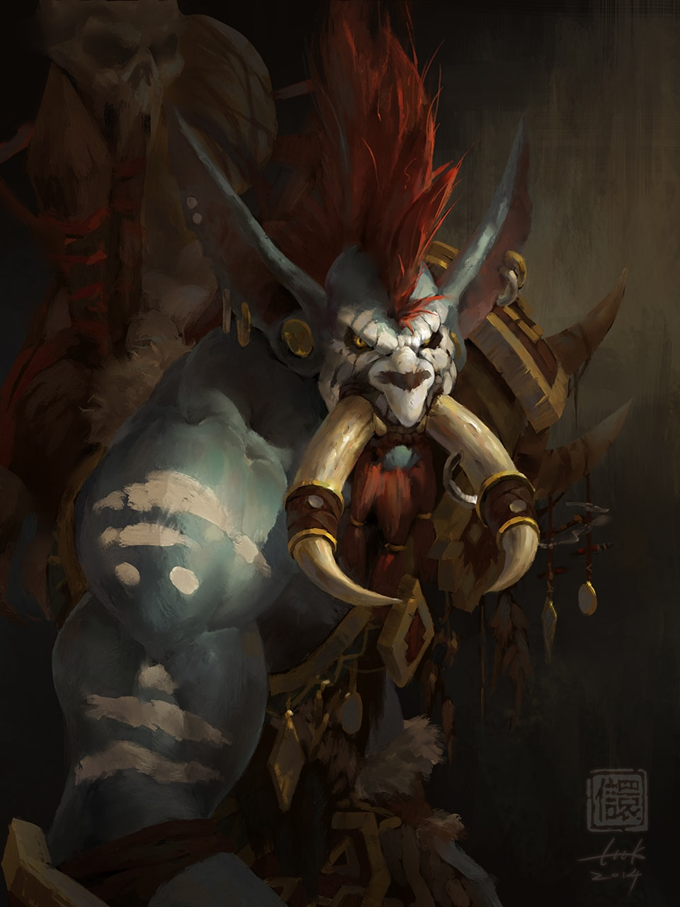 WOW: Vol'jin HQ wallpapers