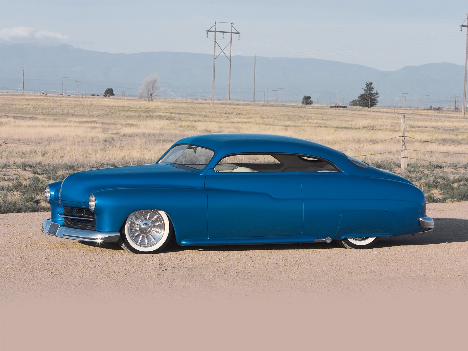 1950 Mercury Background