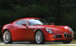 Alfa Romeo 8c Background
