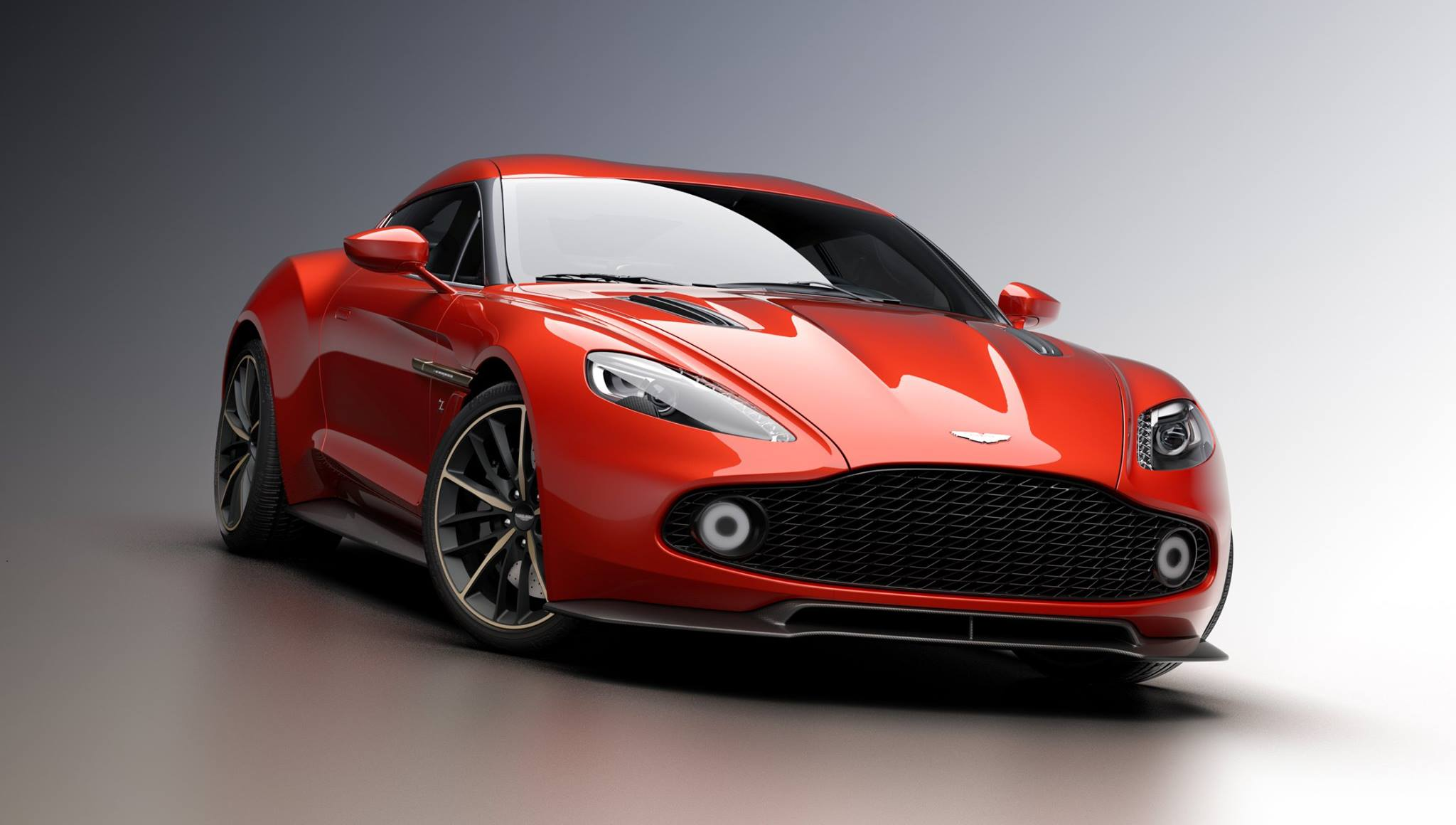 Aston Martin Vanquish Zagato HQ wallpapers