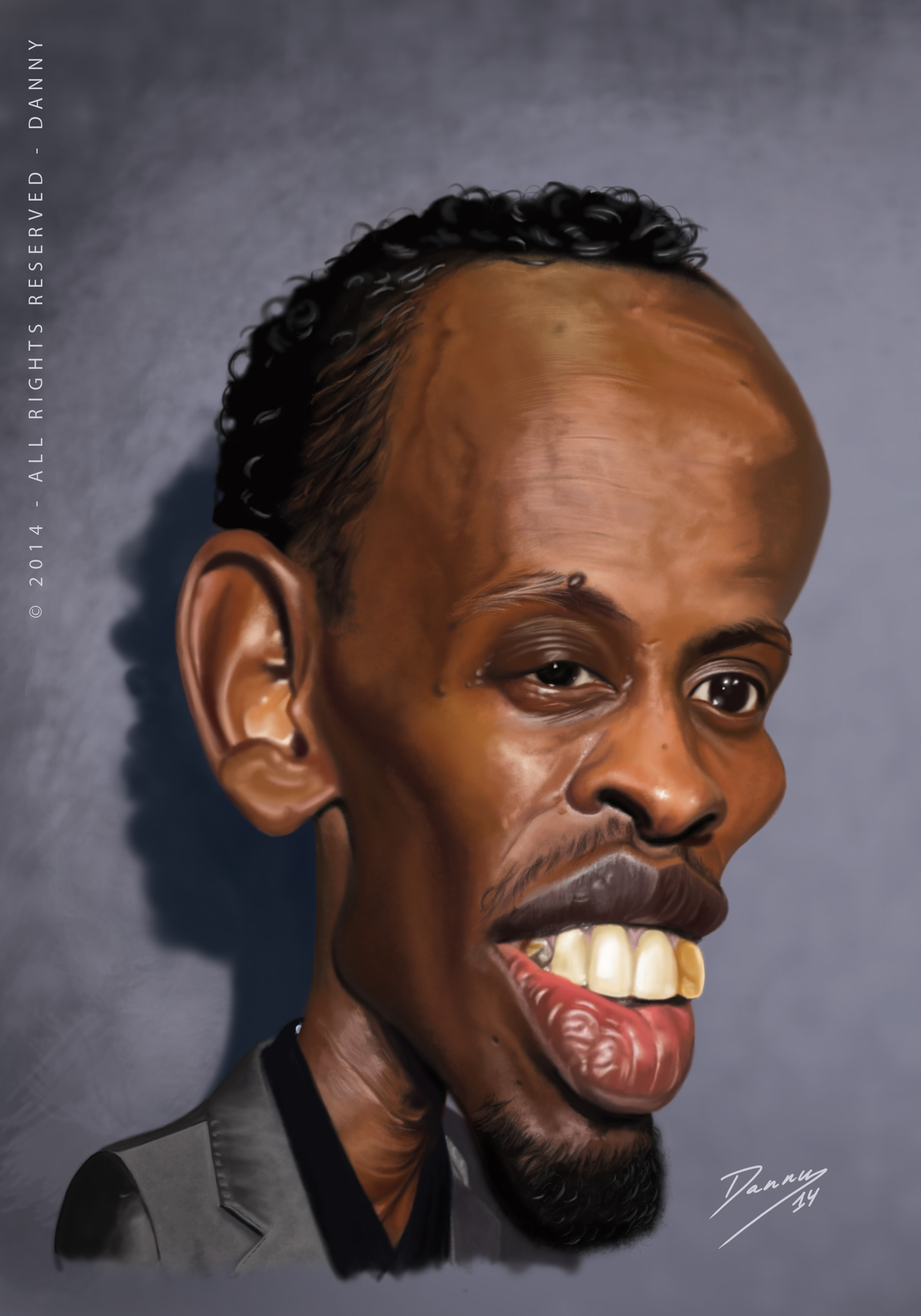 Barkhad Abdi Background