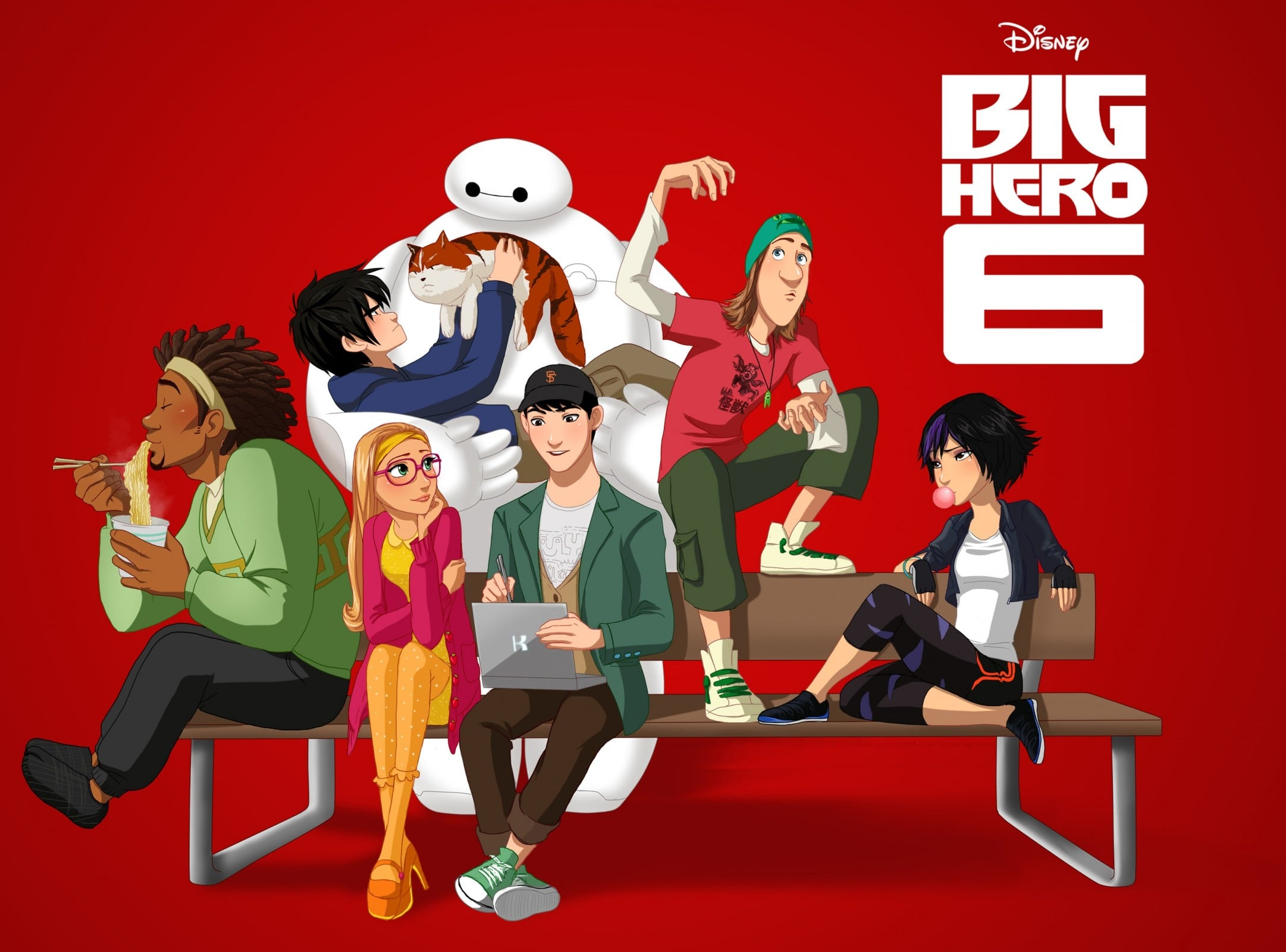 Big Hero 6 Background