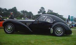 Bugatti Type 57SC Atlantic Coupe Background