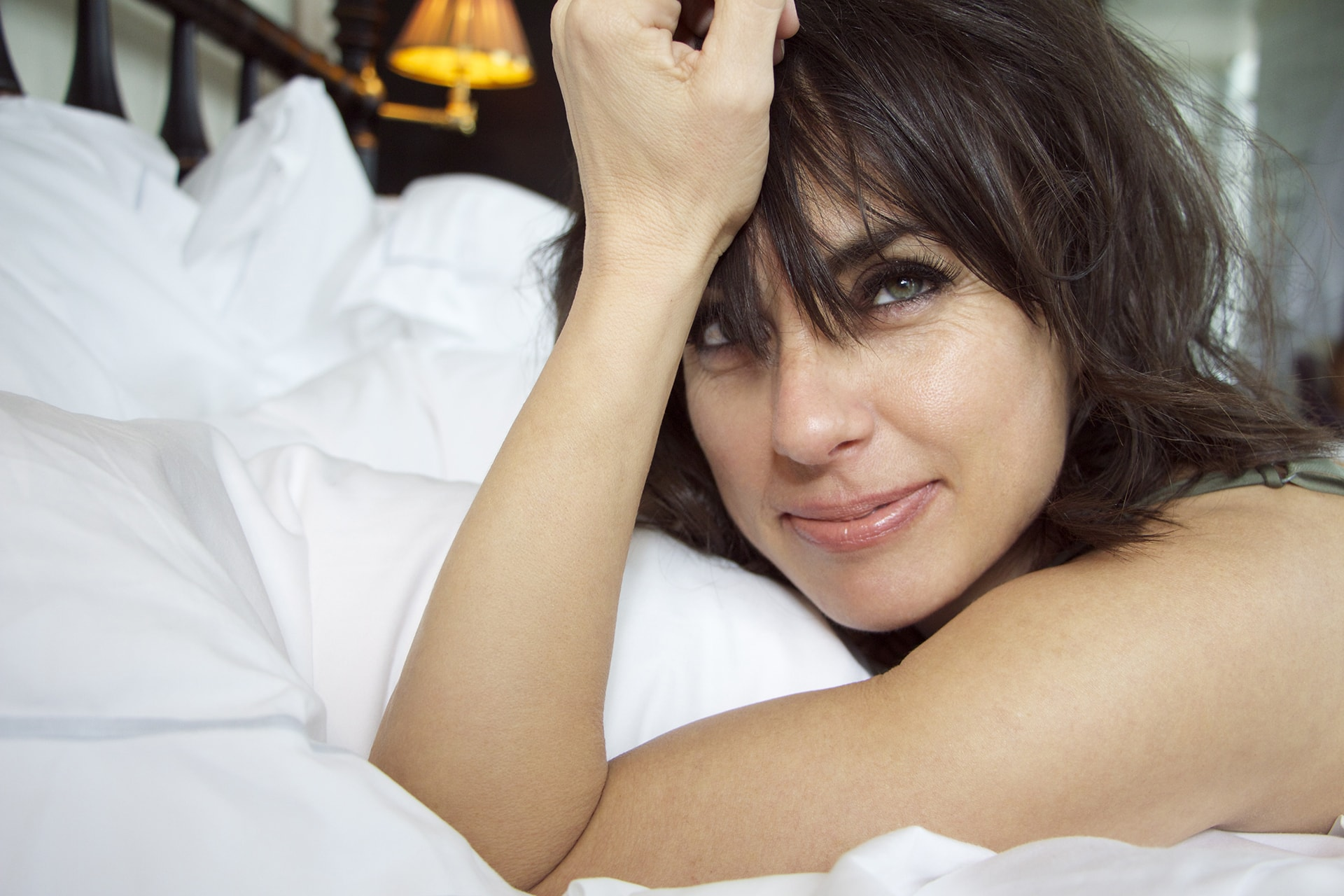 Constance Zimmer Background