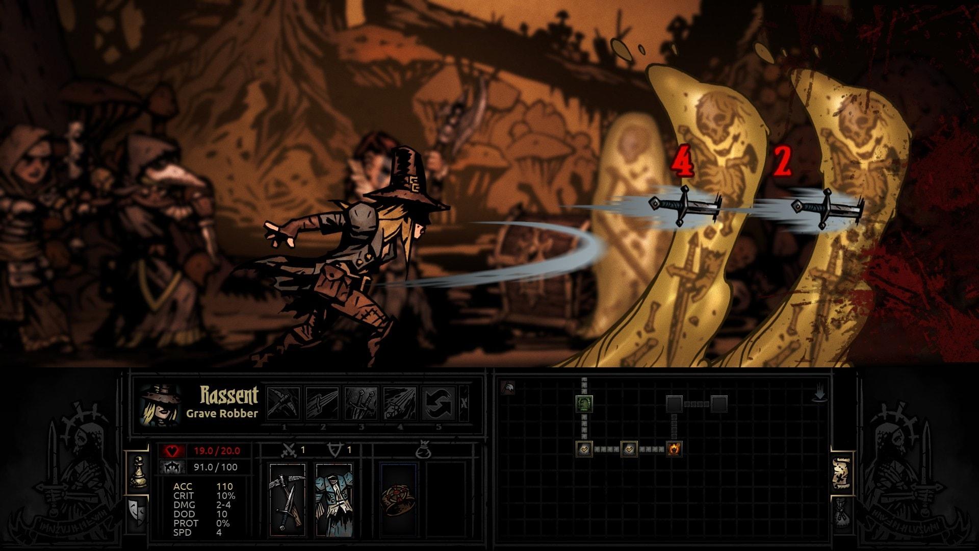 Darkest Dungeon: Grave Robber Background