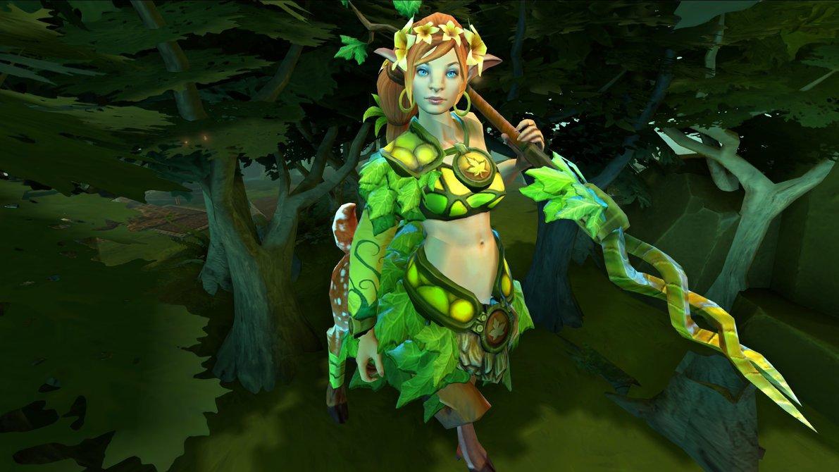 Dota 2 : Enchantress Background