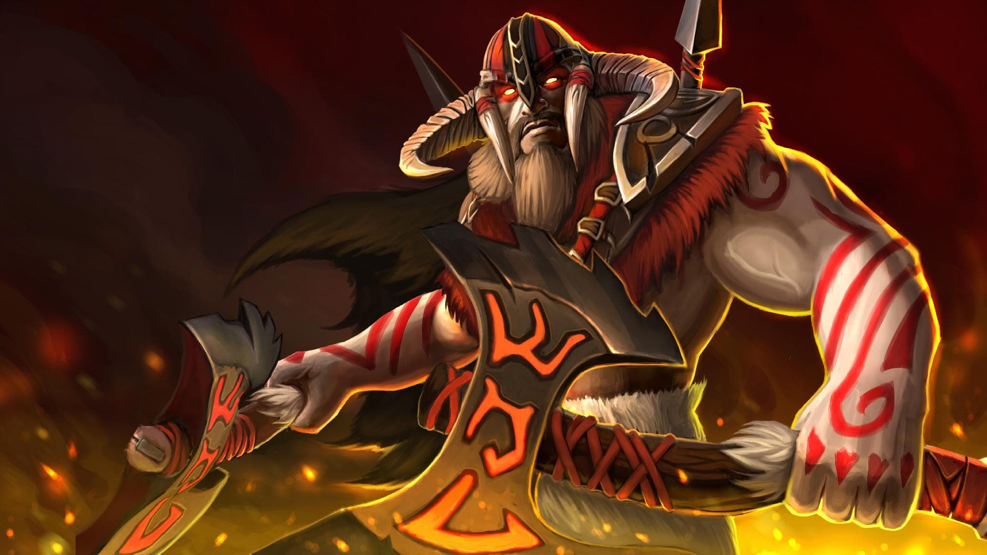 Dota2 : Beastmaster Desktop wallpapers
