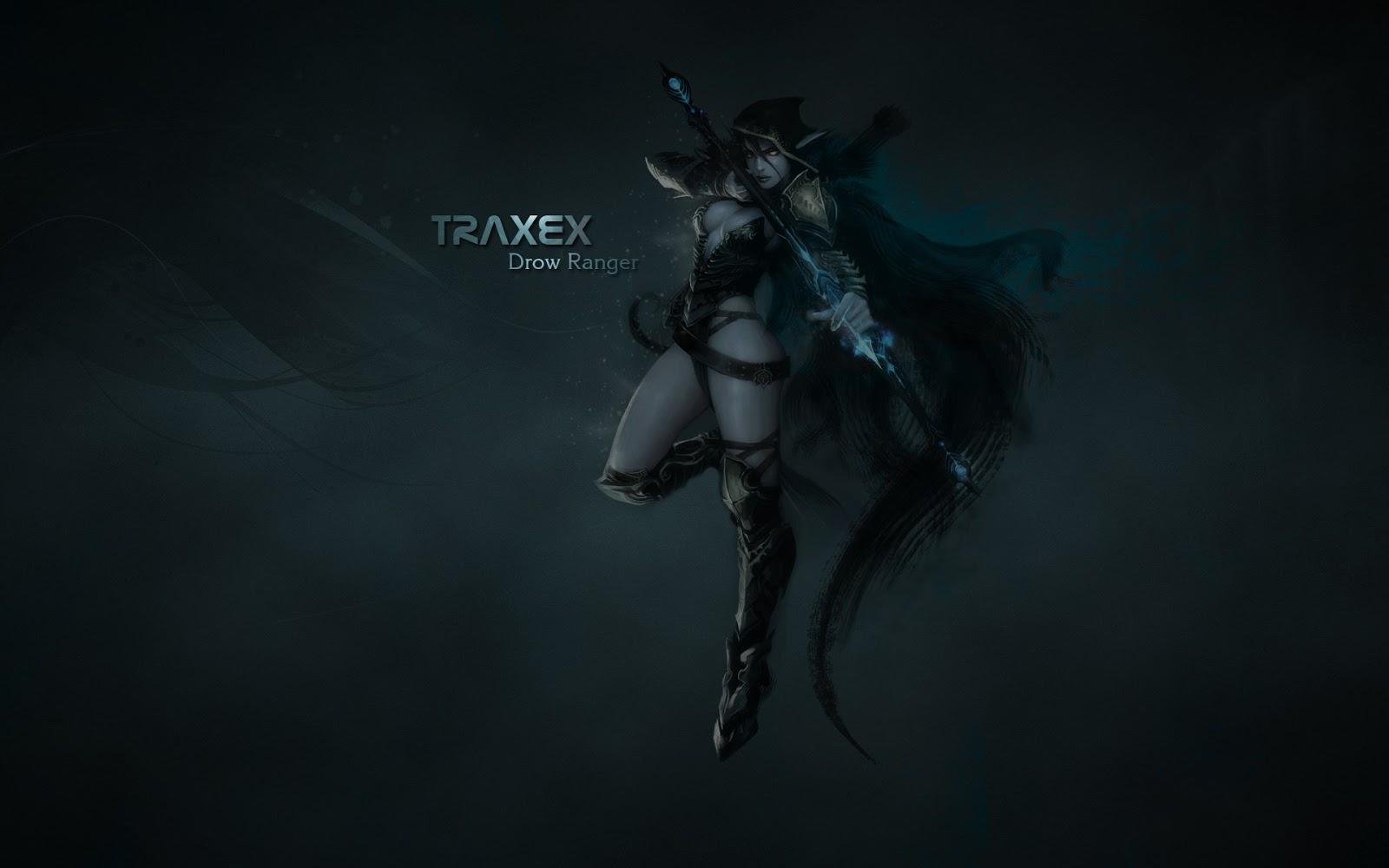 Dota2 : Drow Ranger Background