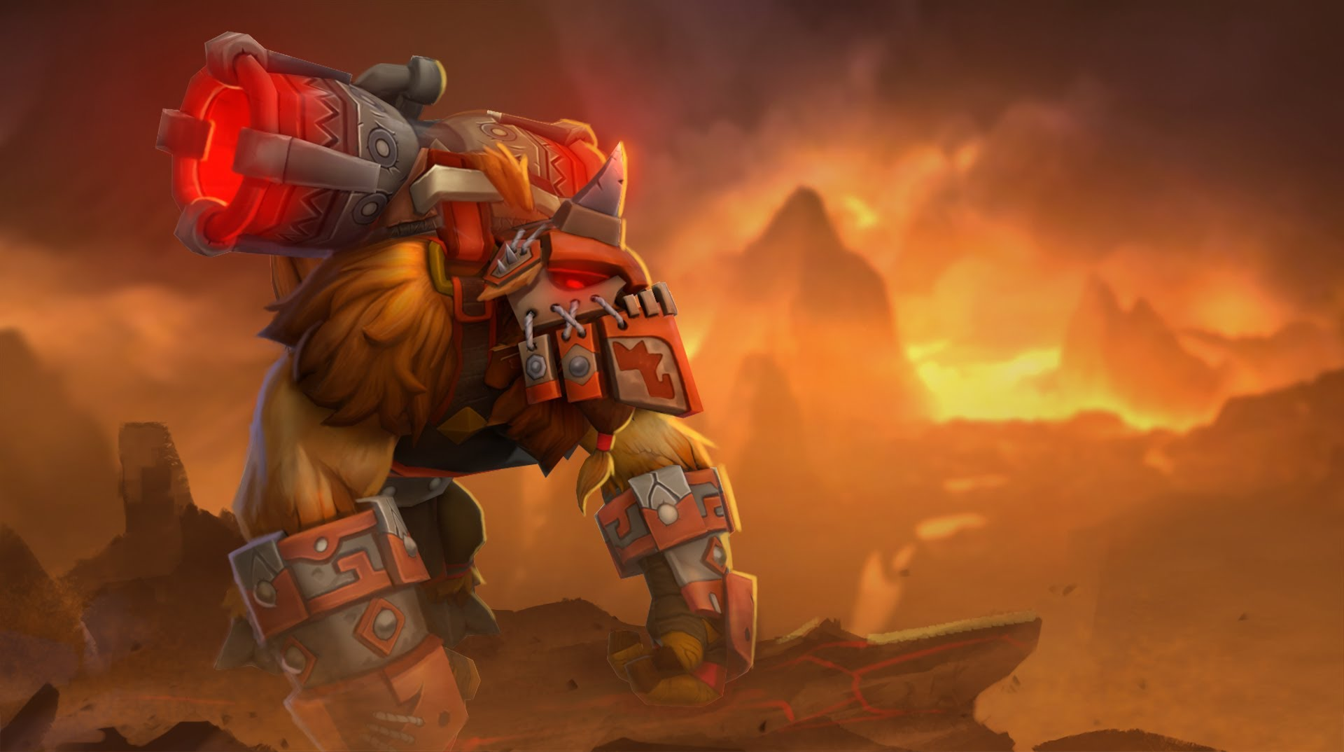 Dota2 : Earthshaker Background