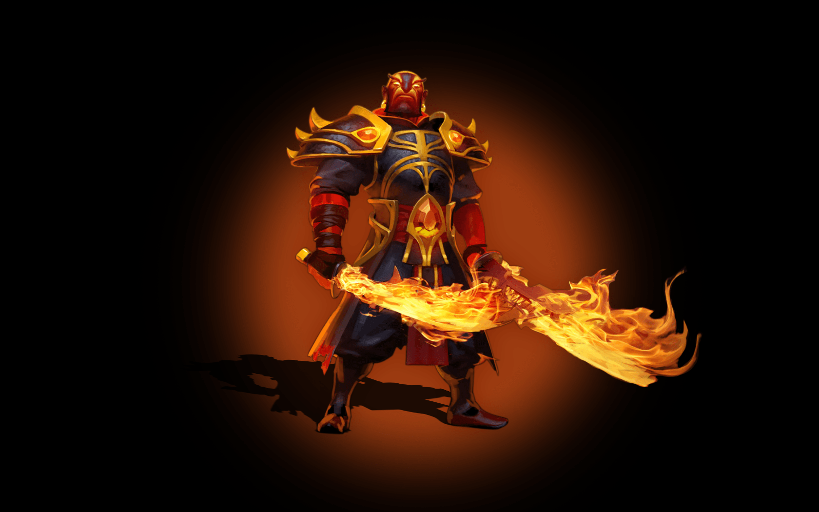 Dota2 : Ember Spirit Background