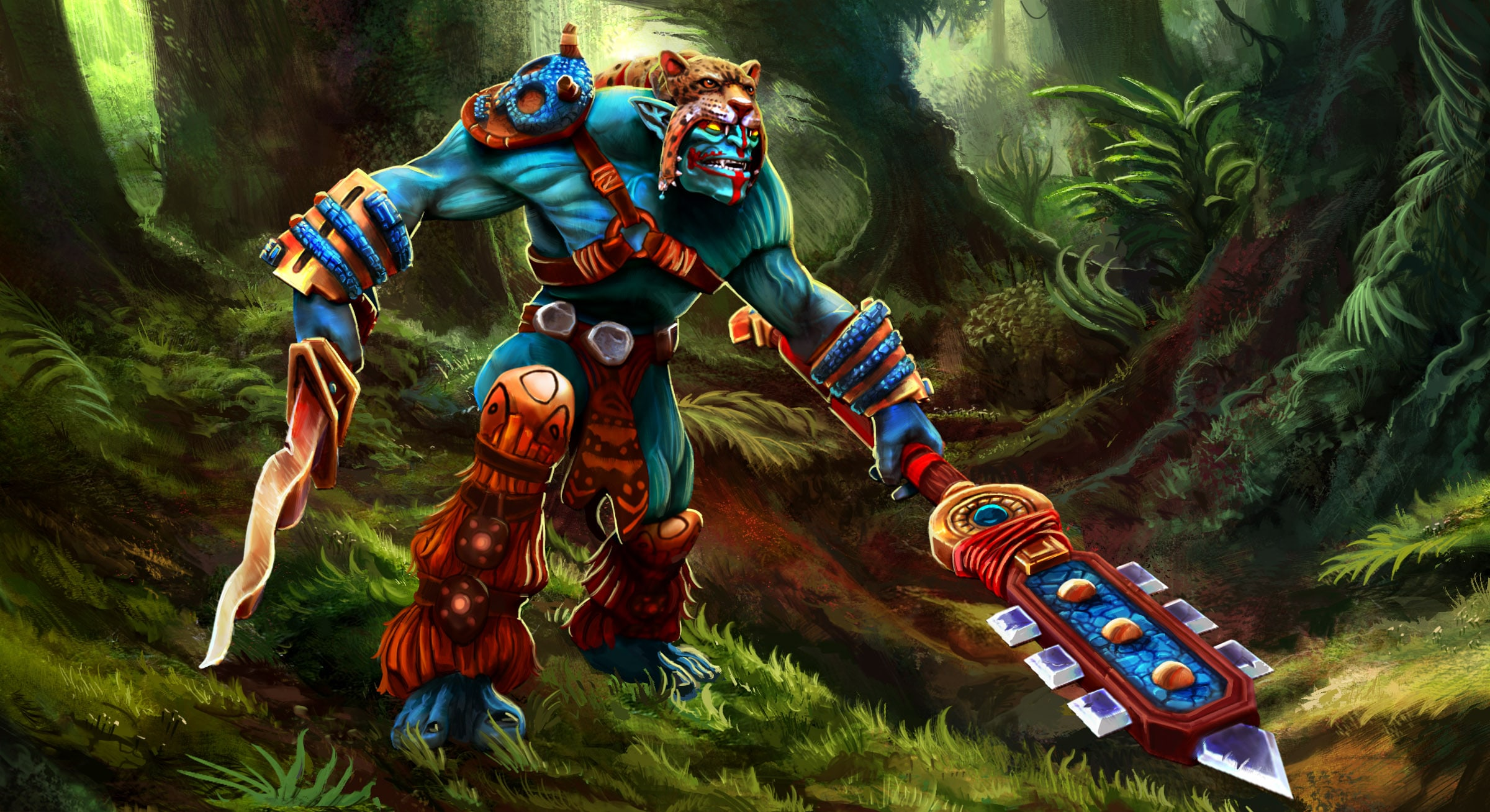 Dota2 : Huskar Background