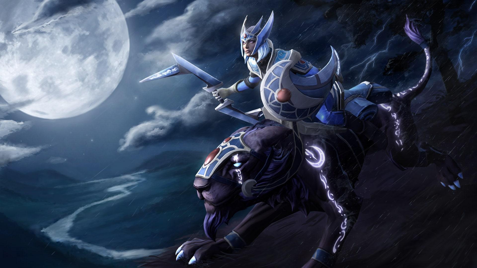 Dota2 : Luna Background