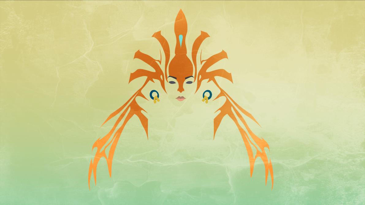 Dota2 : Naga Siren Background