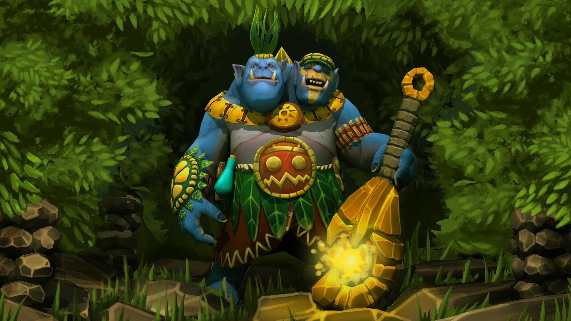 Dota2 : Ogre Magi HQ wallpapers