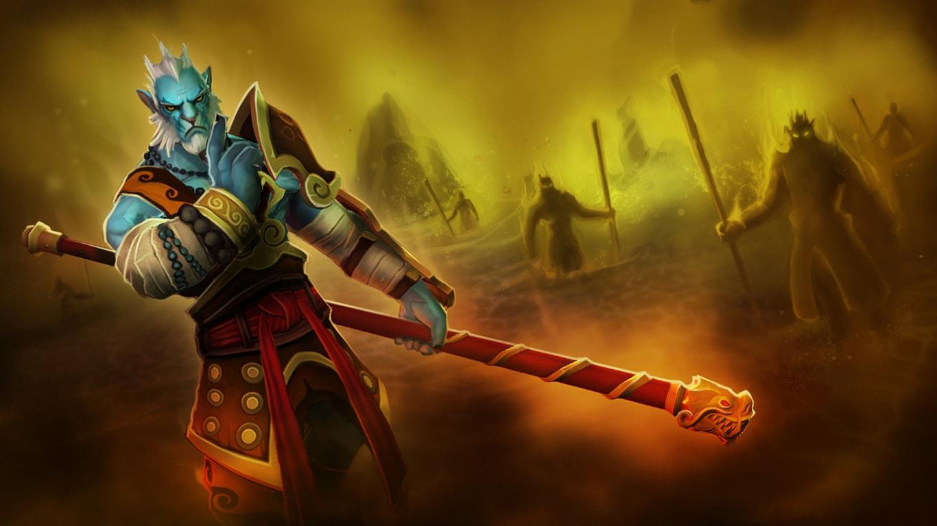 Dota2 : Phantom Lancer Background