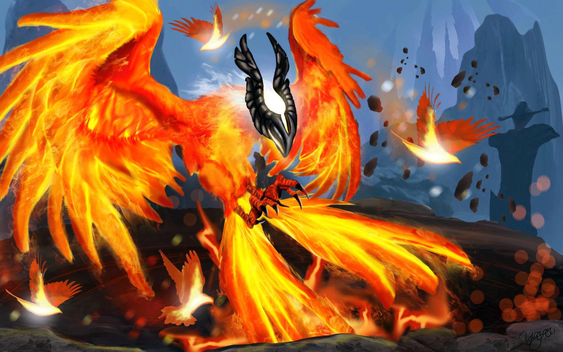 Dota2 : Phoenix Wallpapers hd