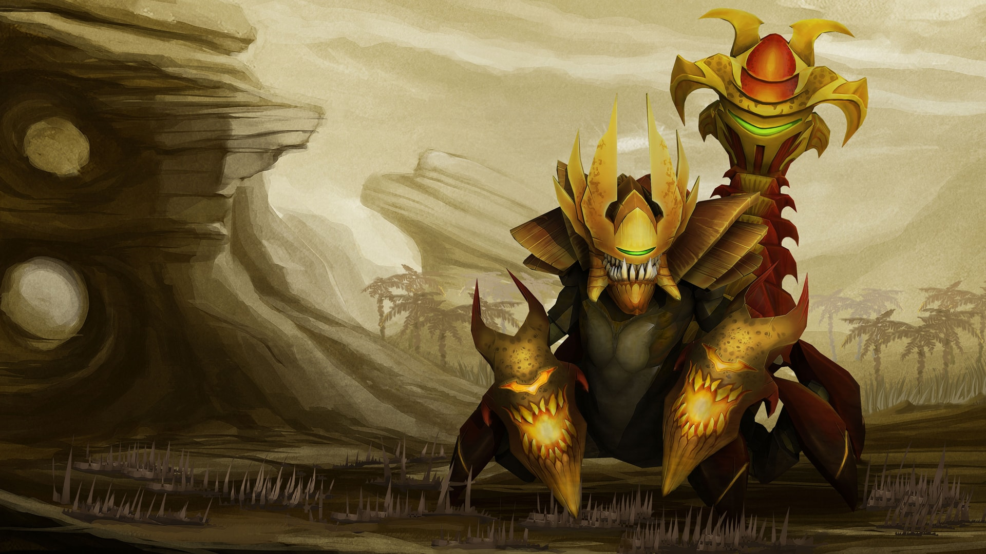 Dota2 : Sand King HQ wallpapers