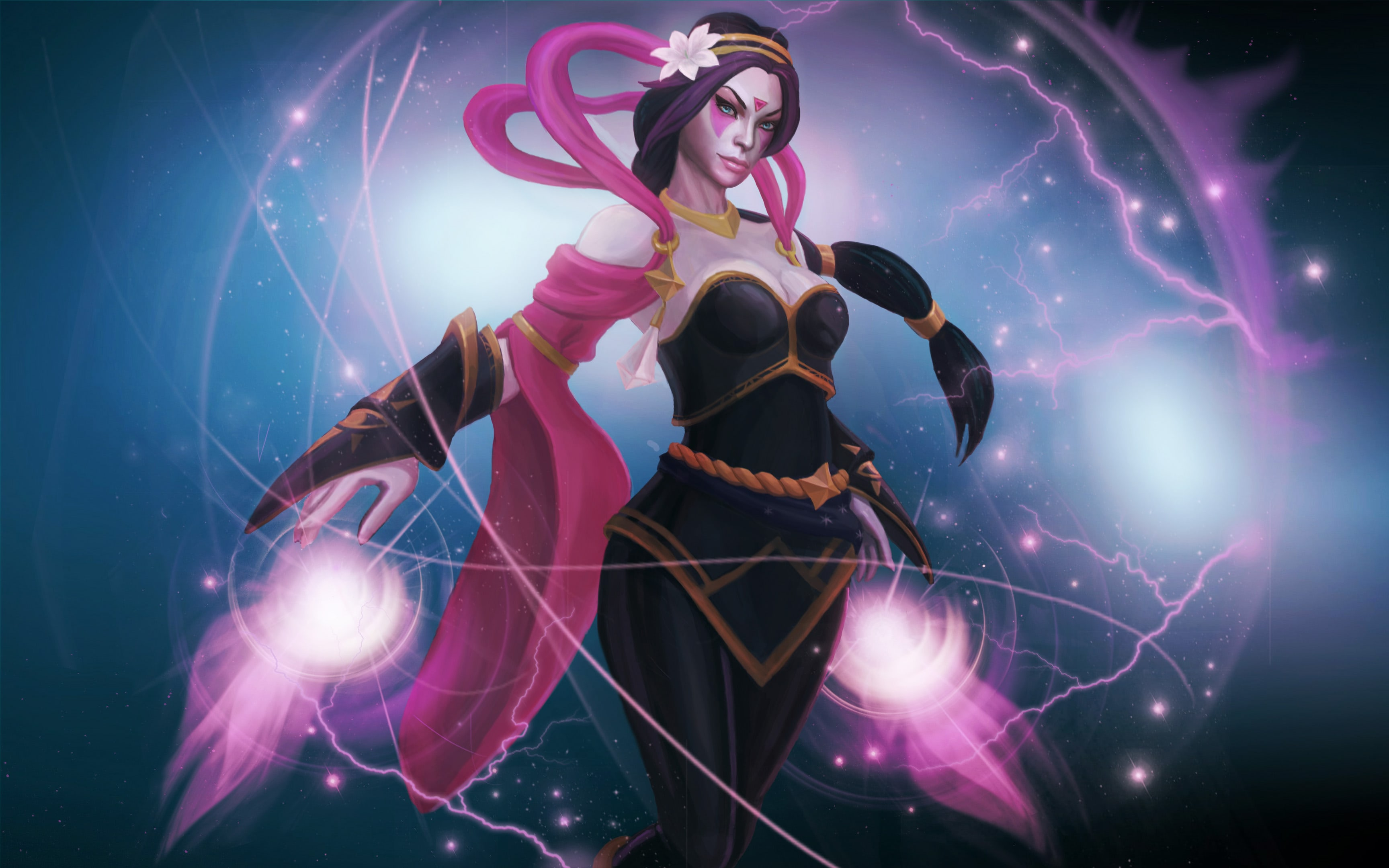Dota2 : Templar Assassin Background
