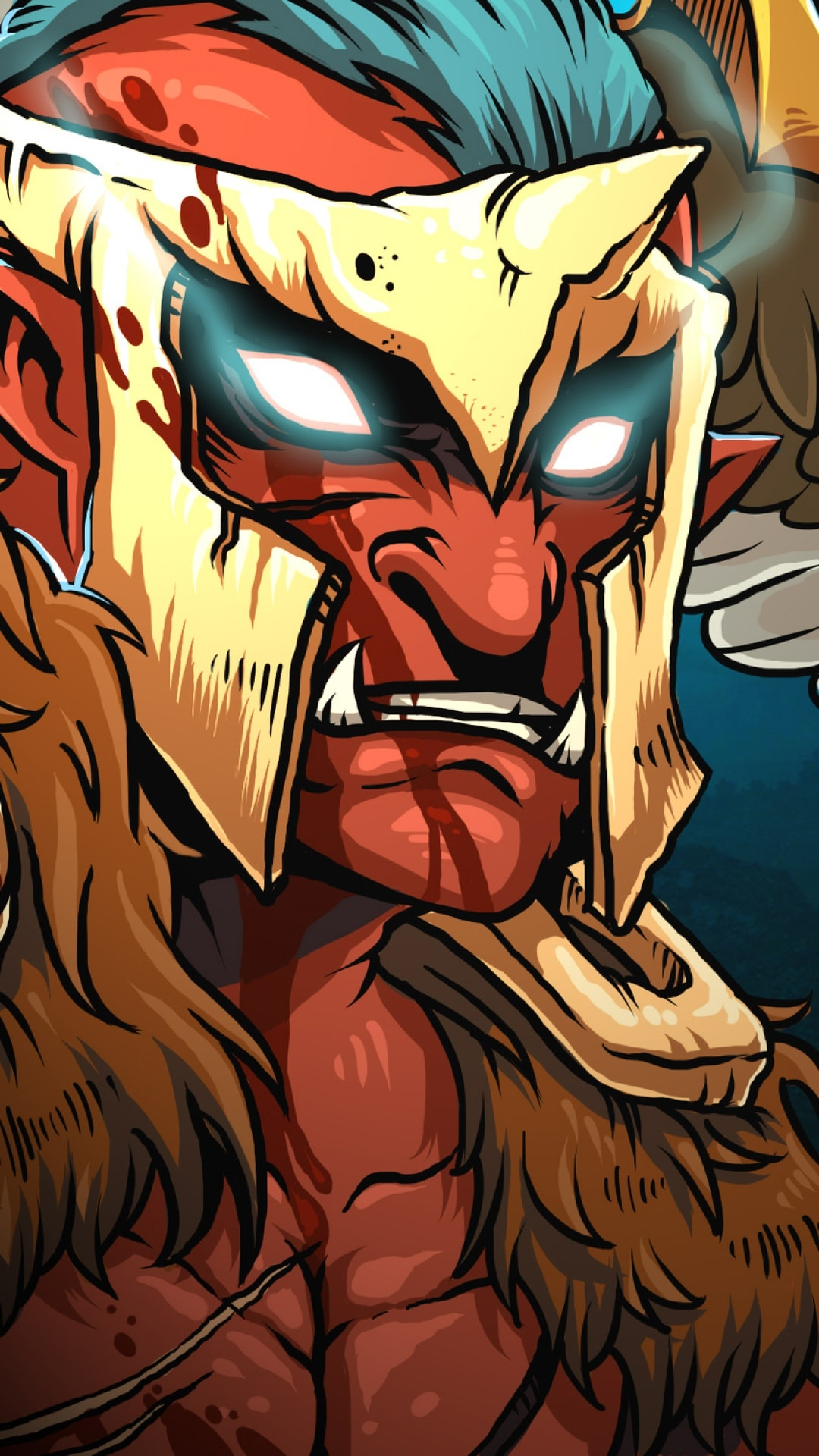 Dota2 : Troll Warlord Android wallpapers
