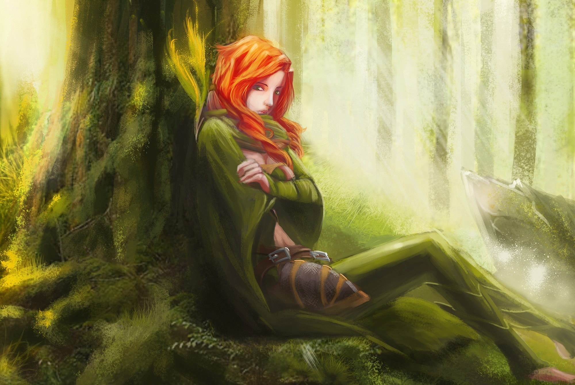 Dota2 : Windranger Background