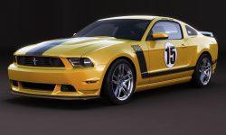 Ford Mustang Boss 302 Laguna Seca Background