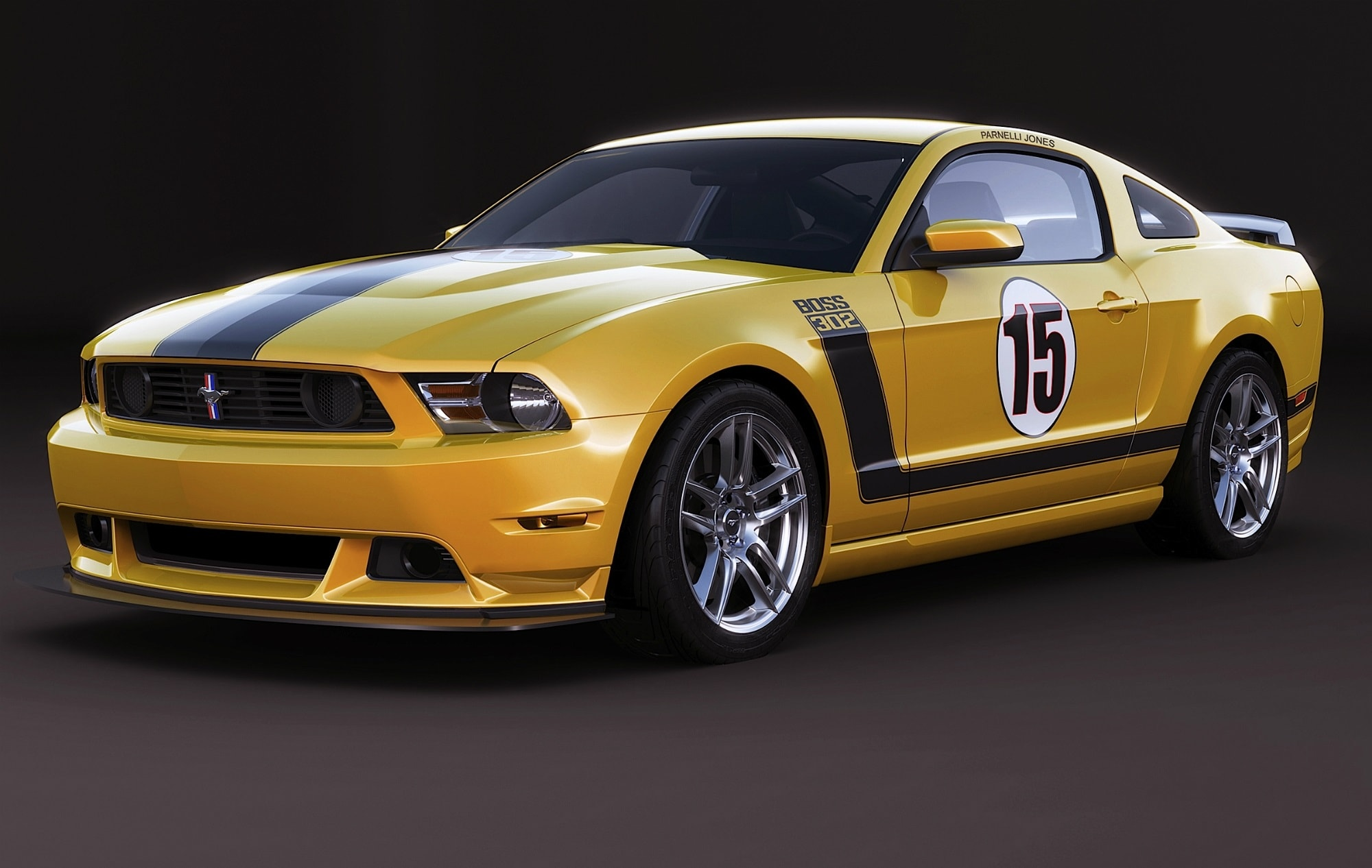 Ford Mustang Boss 302 Laguna Seca Background