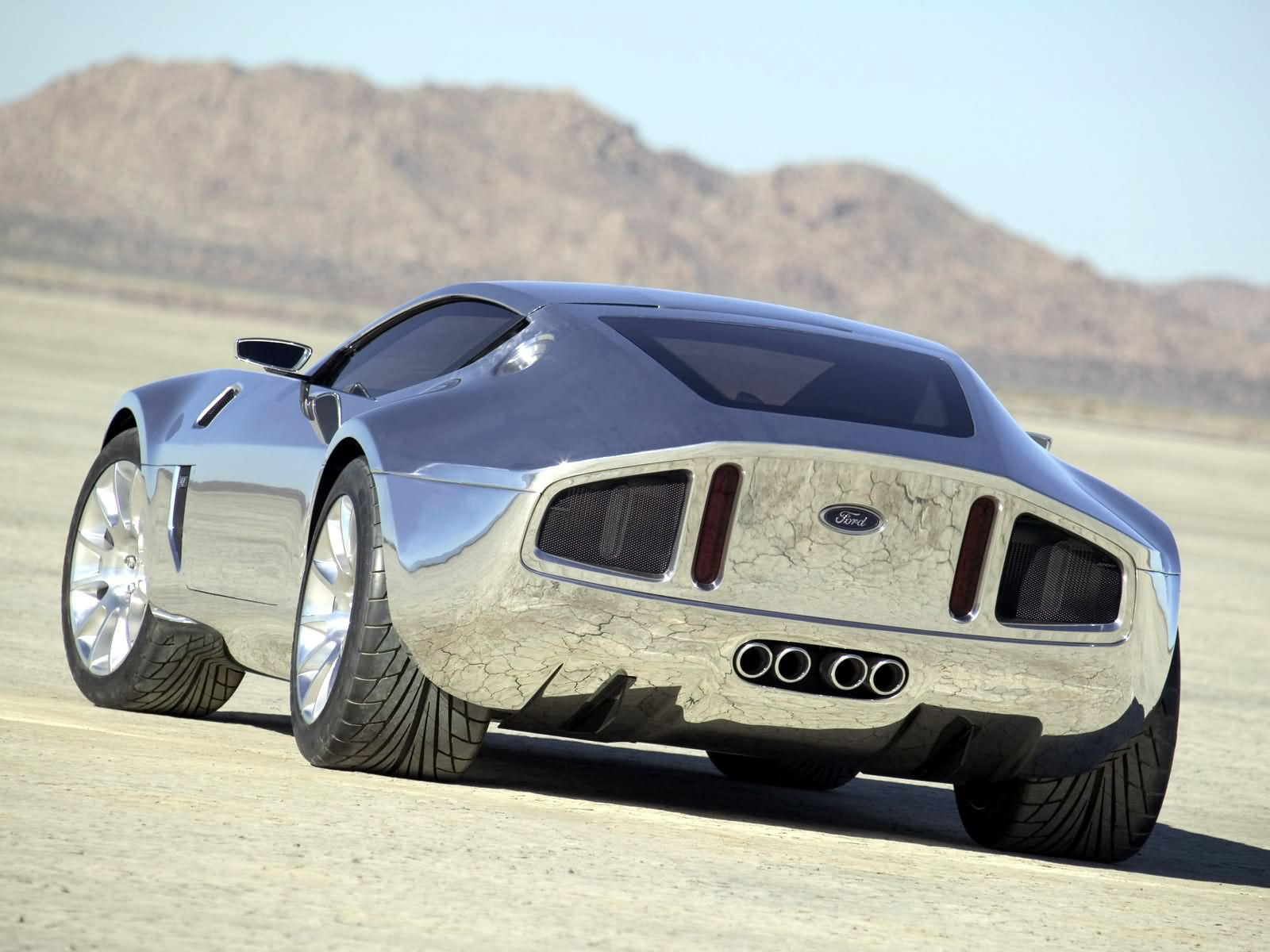 Ford Shelby GR1 Concept Background