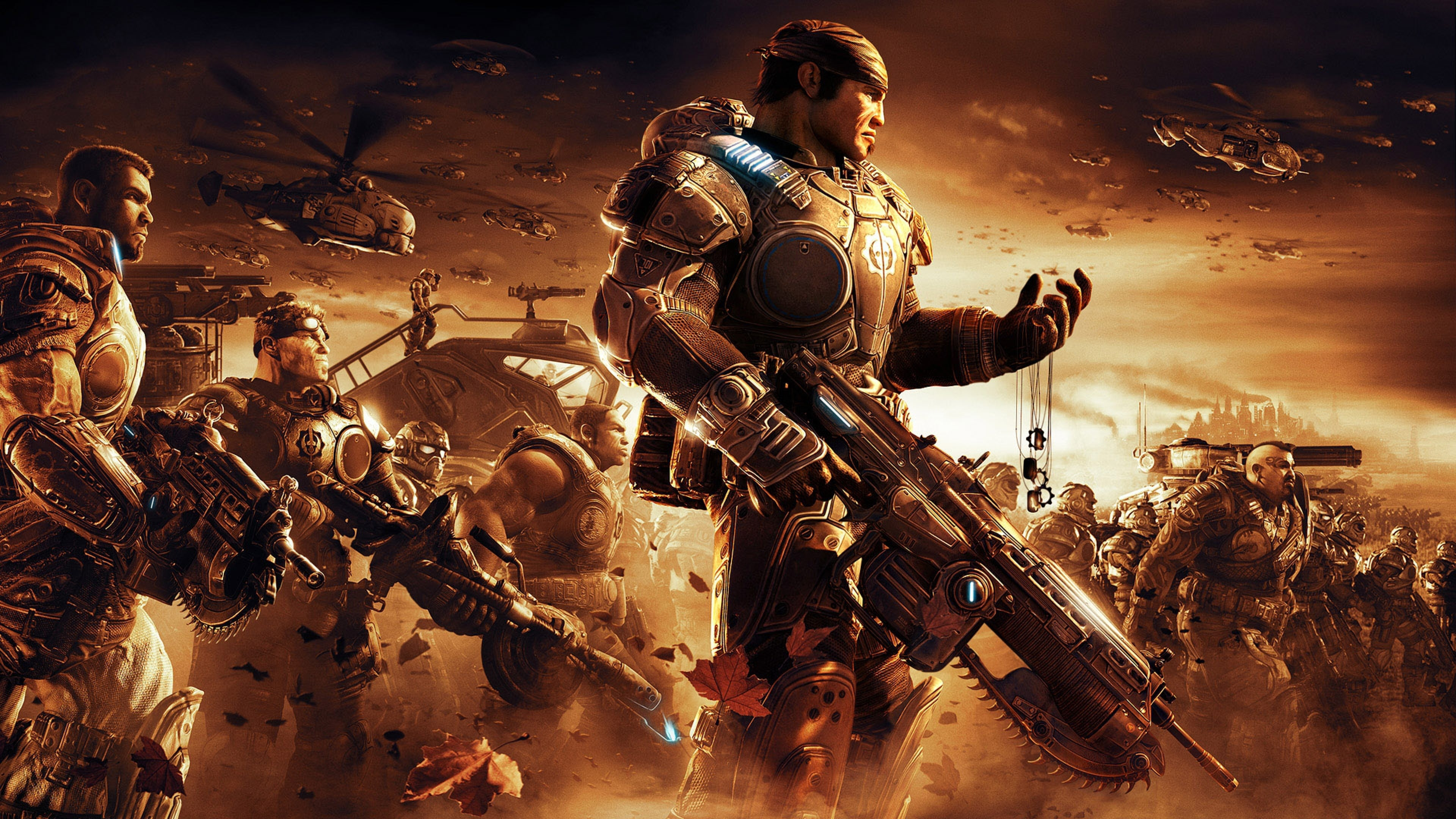 Gears of War 4 Background