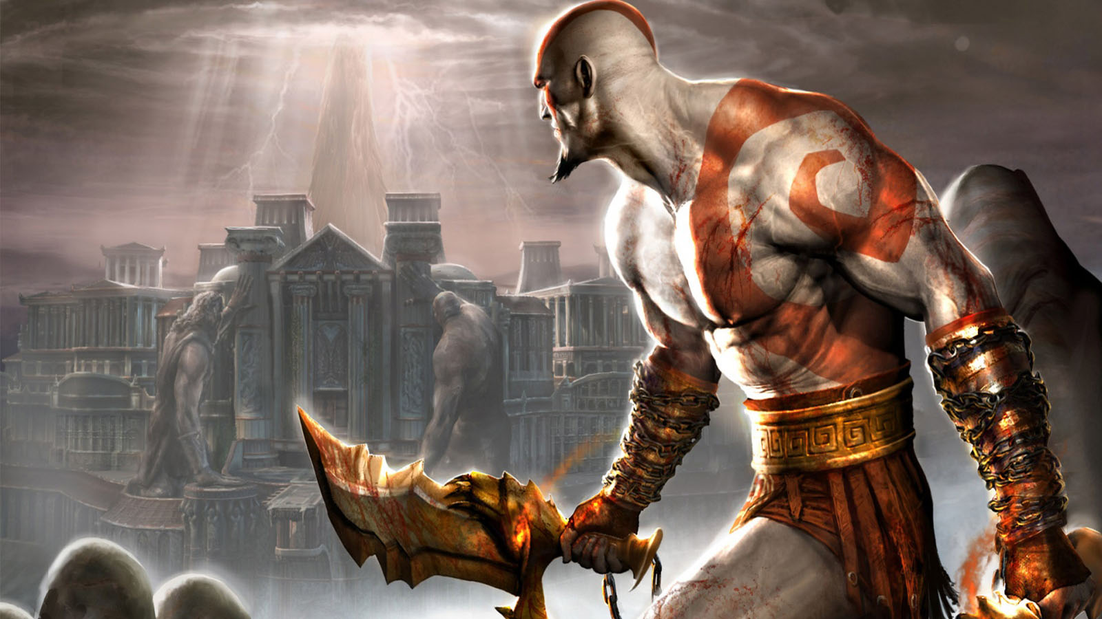 God Of War 2 HQ wallpapers