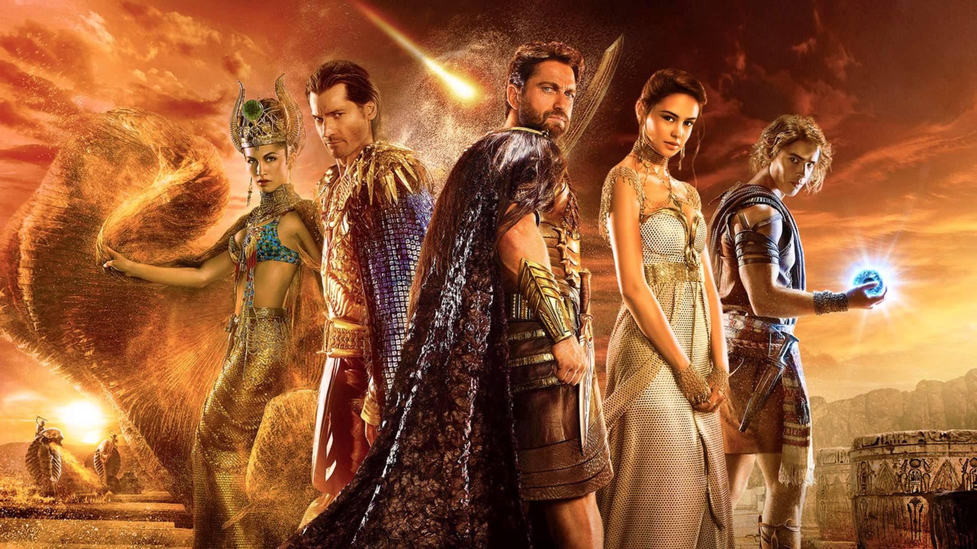 Gods of Egypt Background