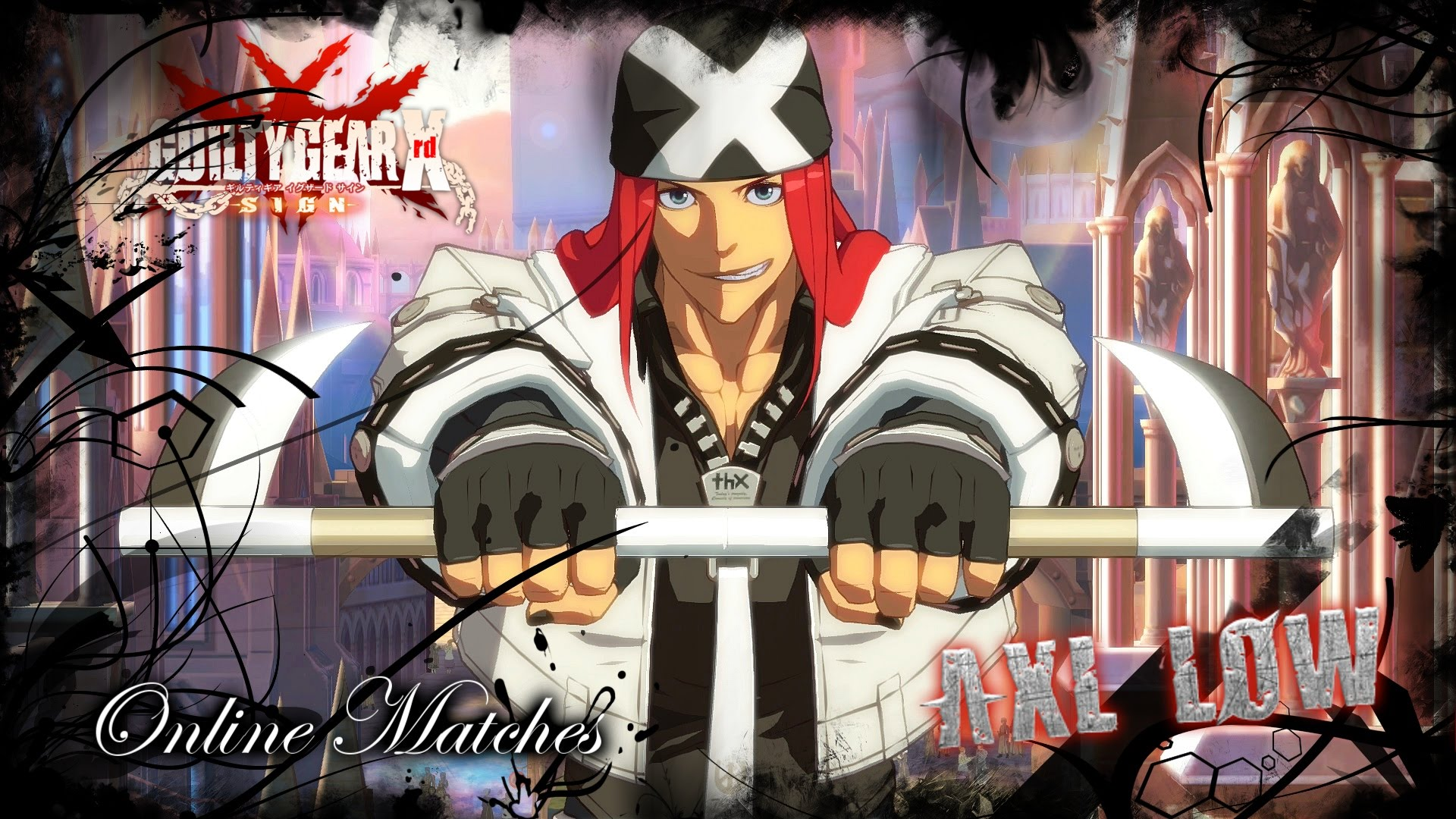 Guilty Gear: Axl Low Background