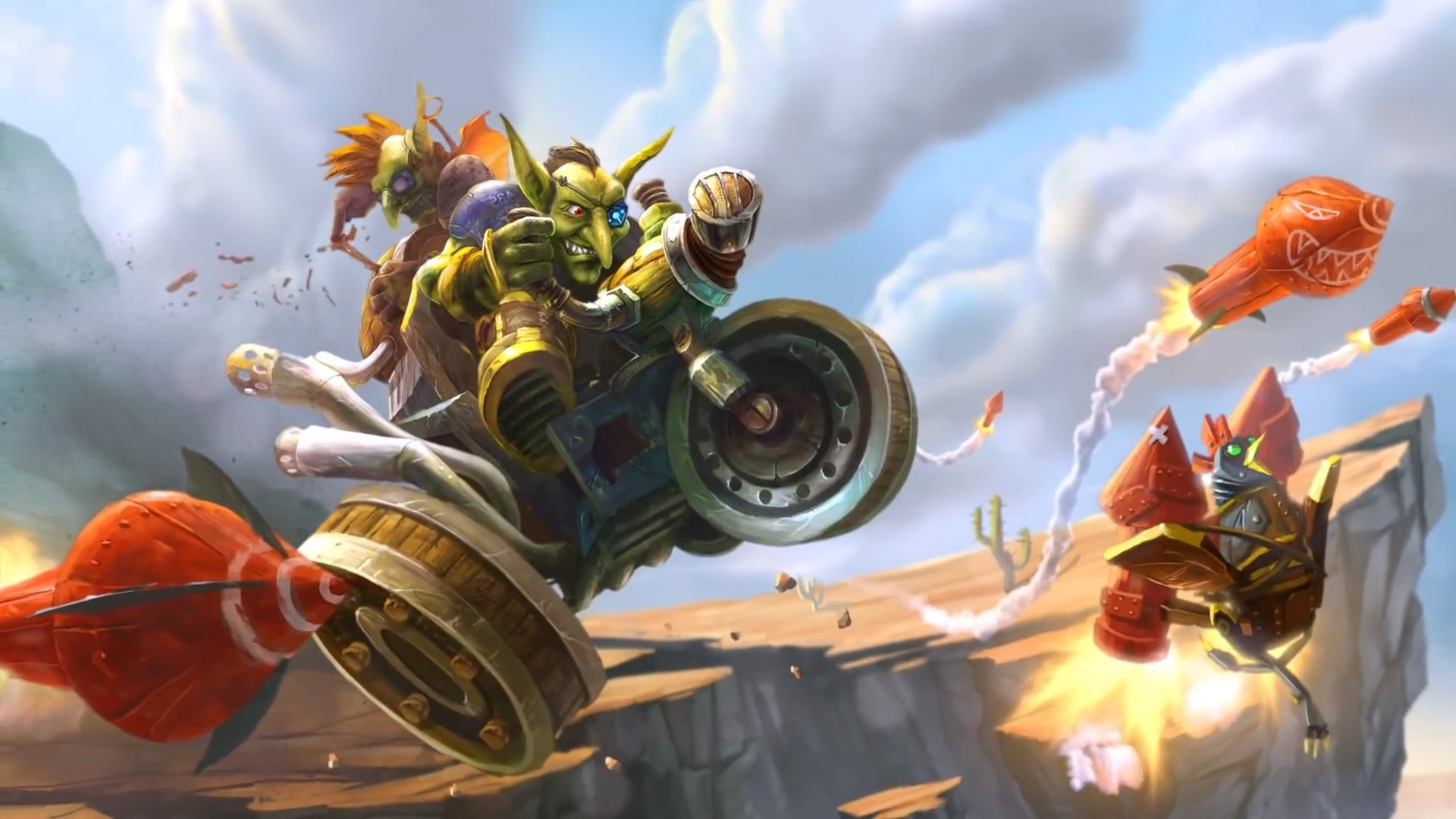 Hearthstone: Goblins Vs. Gnomes Background