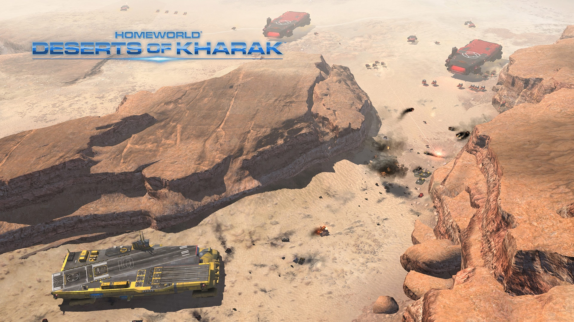 Homeworld: Deserts of Kharak Background