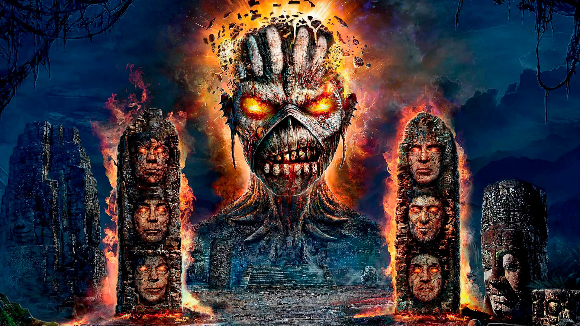 Iron Maiden Background