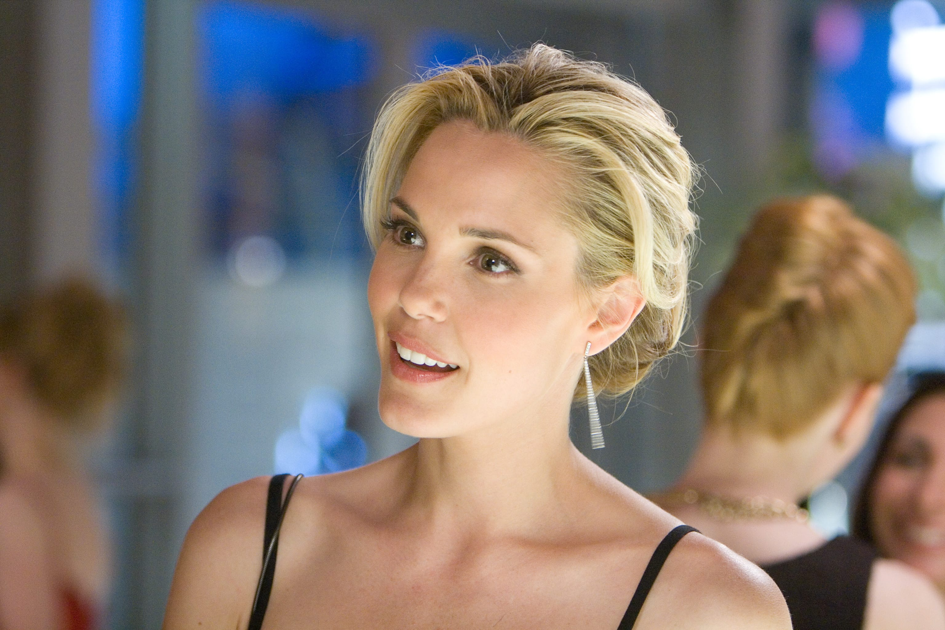 Leslie Bibb Background